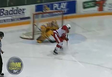 Sergey Tolchinsky with goal of the year candidate in OHL