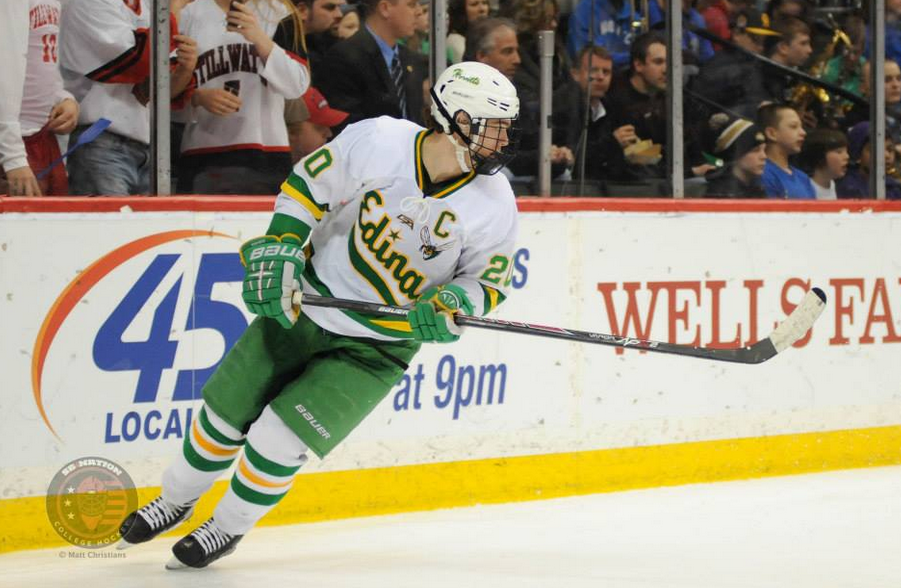 Junior Dylan Malmquist, a Notre Dame commit, led the way for Edina with two goals in its semifinal win.