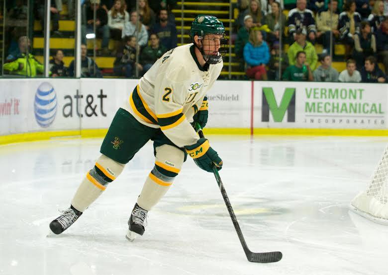 Vermont junior defenseman Michael Paliotta