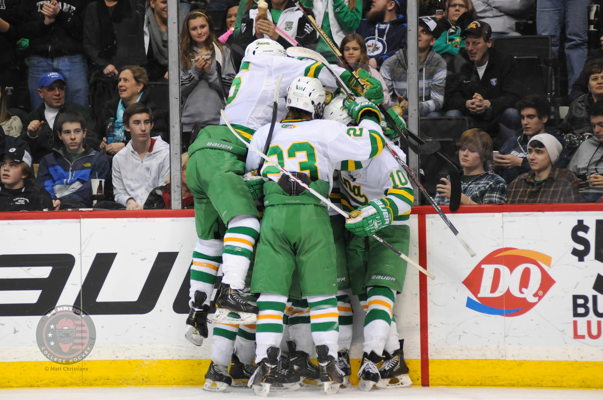 Edina is the first Class AA team to go back-to-back since Bloomington-Jefferson won three-straight from 1992-94.
