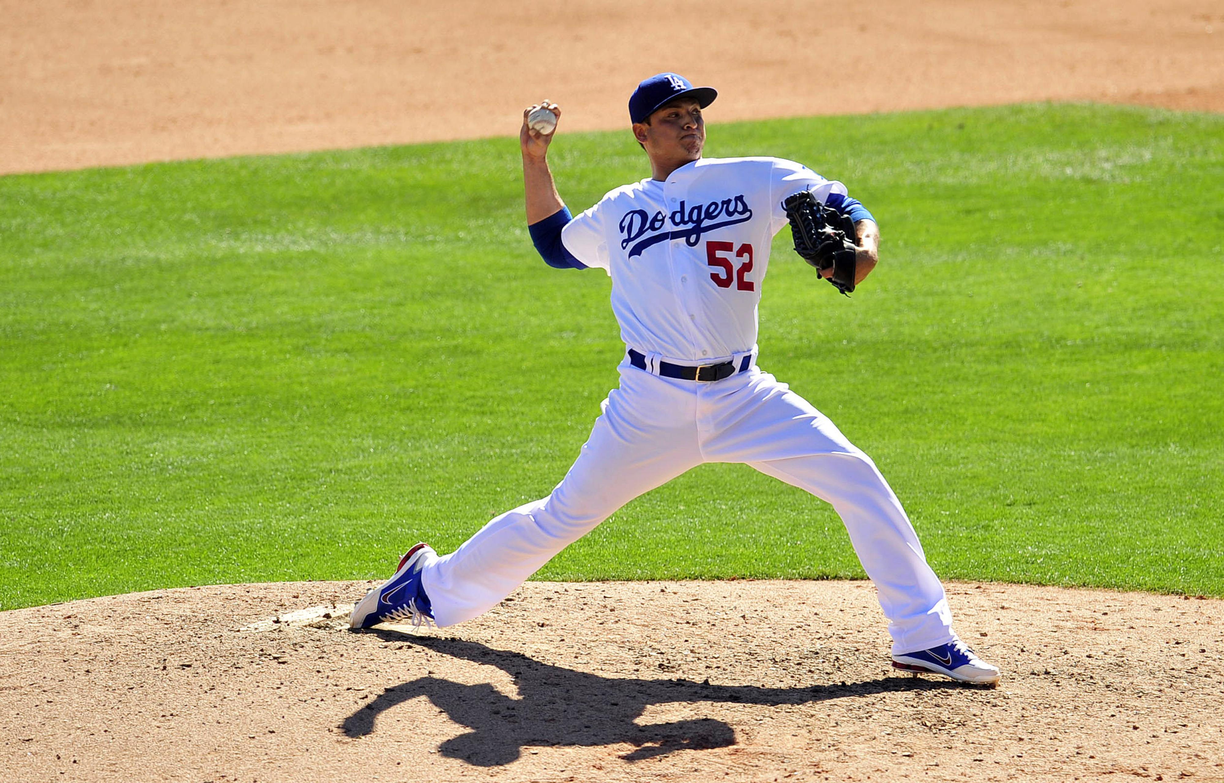 Javy Guerra would like to keep wearing a major-league uniform