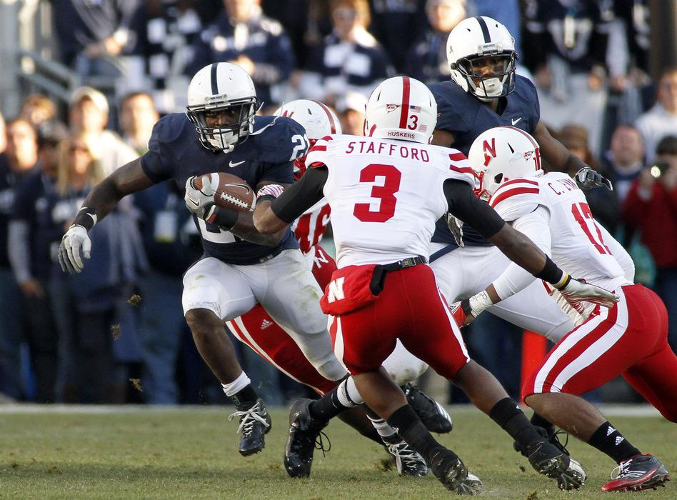 Penn State and Nebraska go toe-to-toe in Lincoln today.