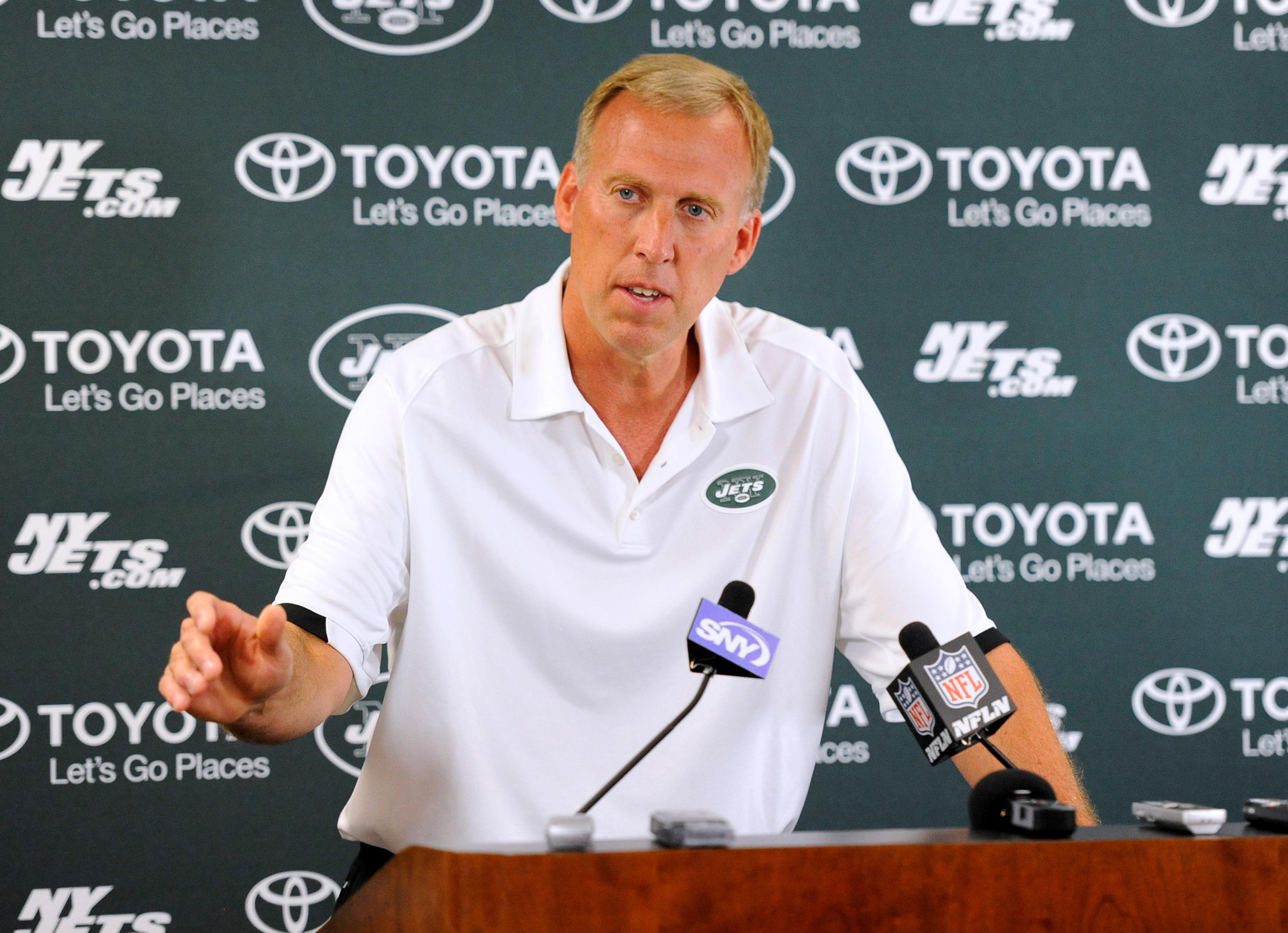 Jets' GM John Idzik