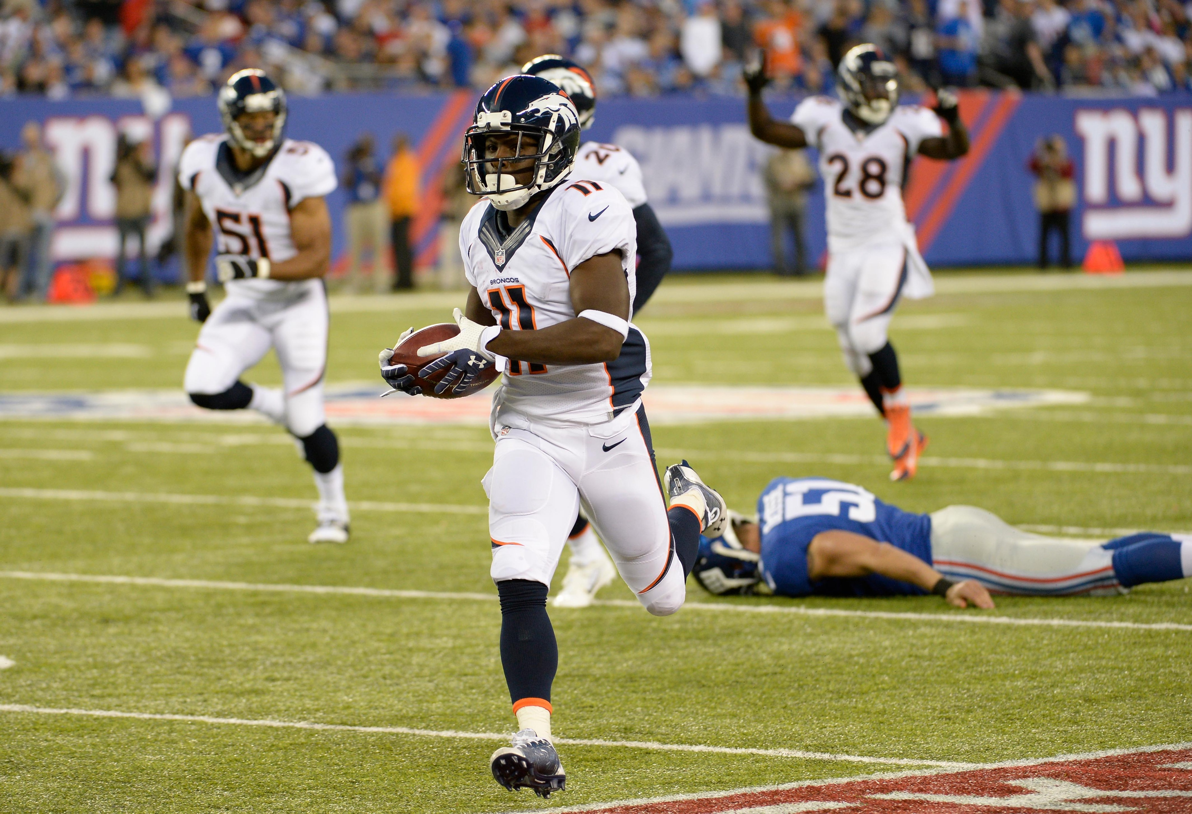 KR/PR Trindon Holliday came to terms with the Giants Monday night