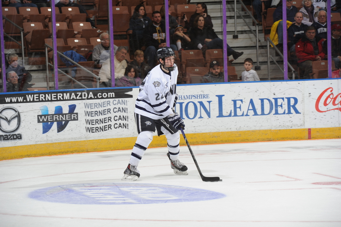 UNH sophomore defenseman Brett Pesce and his teammates need to win the Hockey East Tournament to advance to the NCAA Tournament.