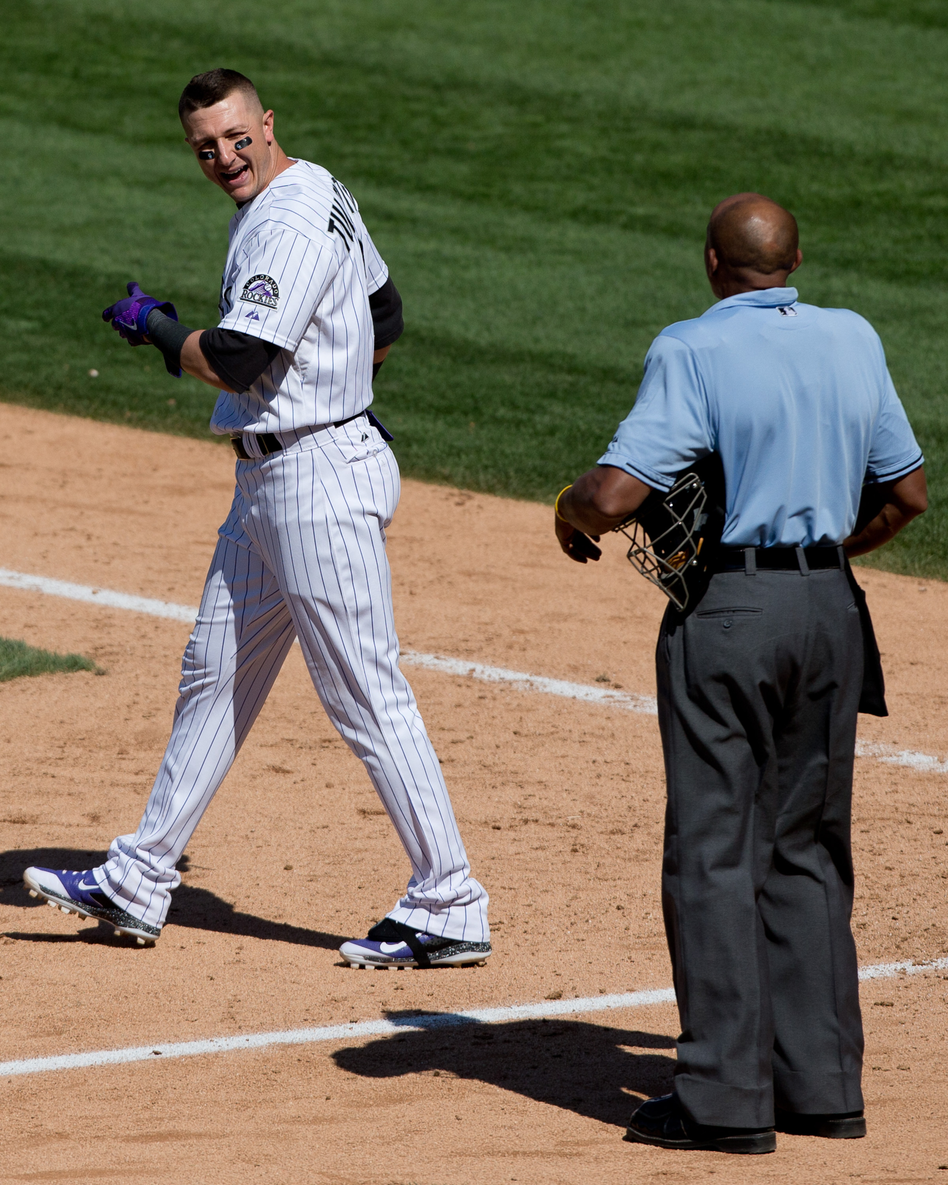 """Searching SBN's photo archive for """"Troy Tulowitzki strike out"""" reveals a lot of this"""