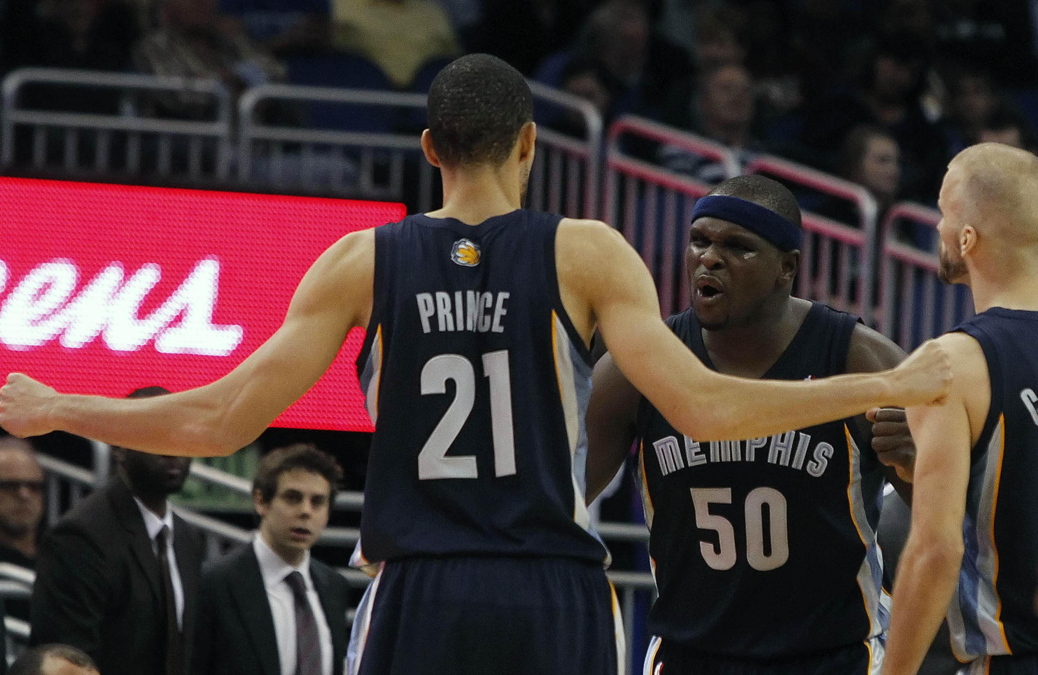 Tayshaun's teammates, like Zach Randolph, already see Prince's bright side.