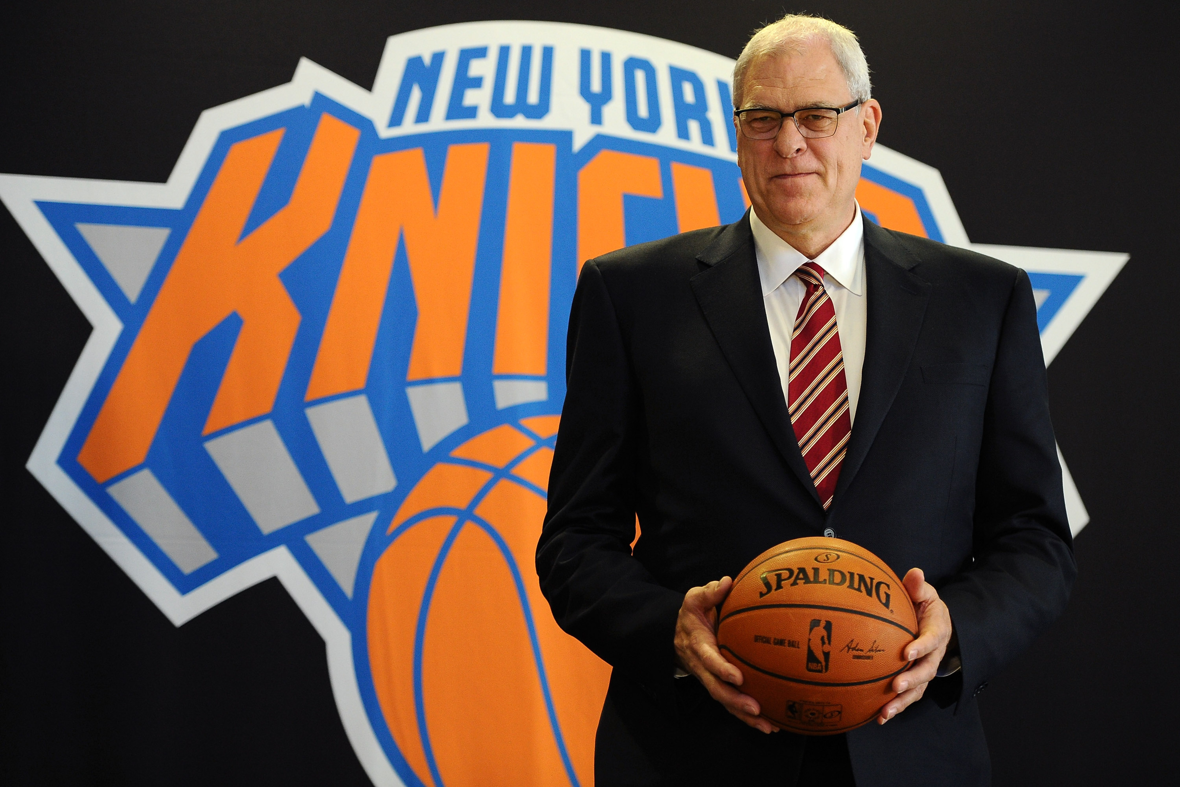 Phil Jackson says Knicks are committed to Carmelo Anthony during introductory press conference
