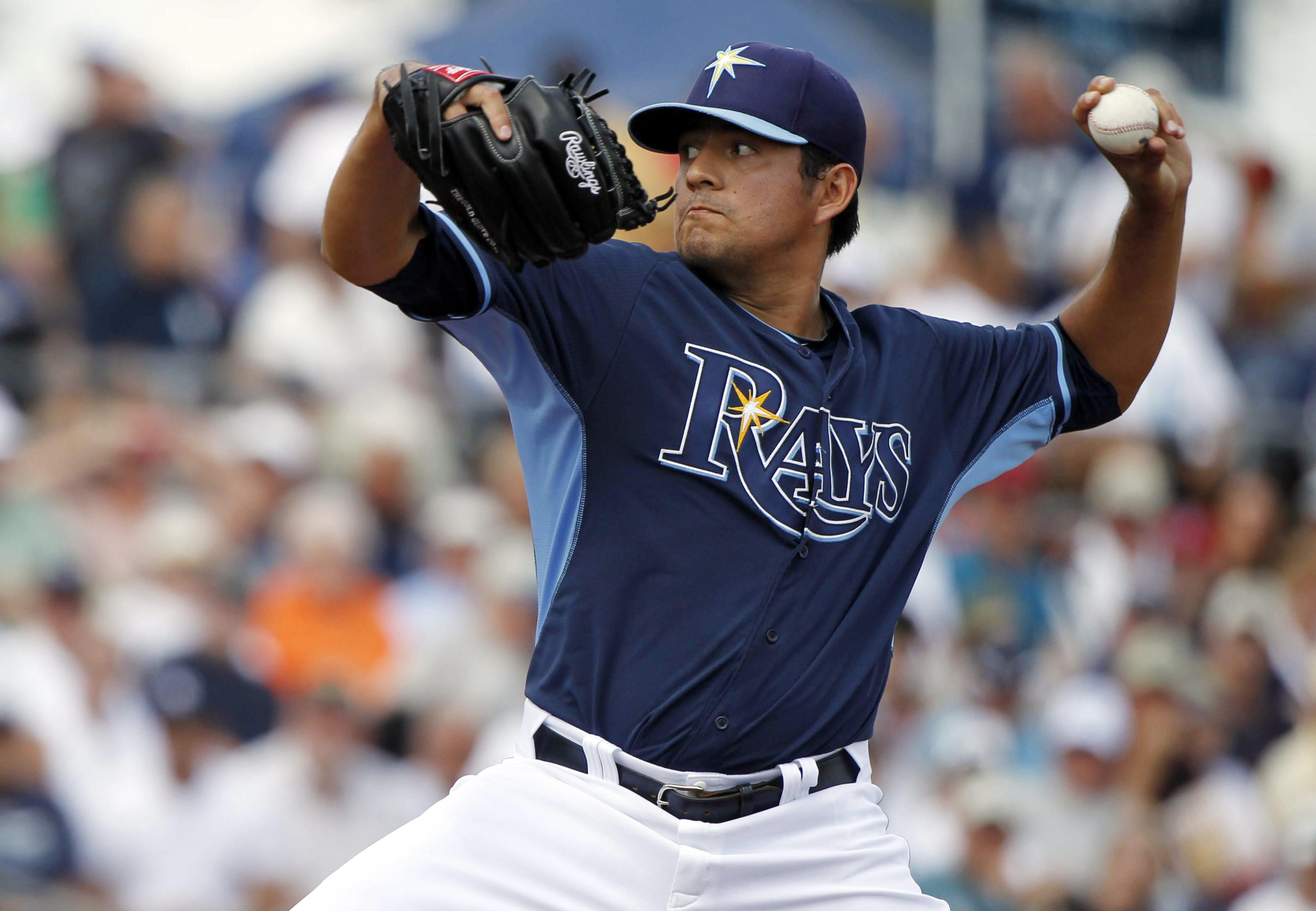 Who takes his place if Cesar Ramos wins the fifth starting position?
