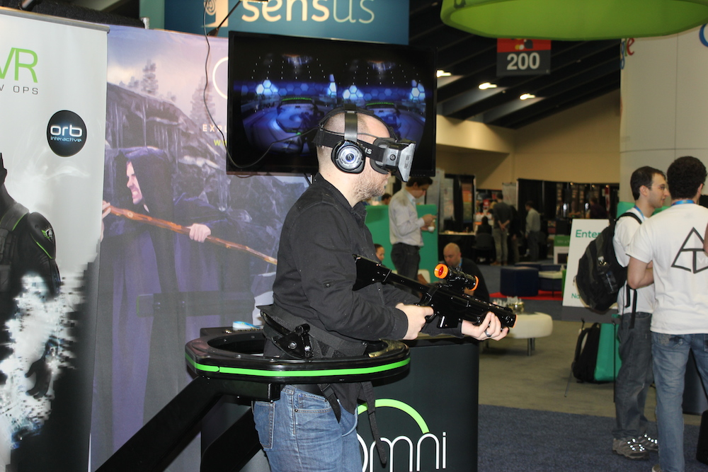 The evolution of the virtual soldier: Hands-on with the latest version of the Virtuix Omni