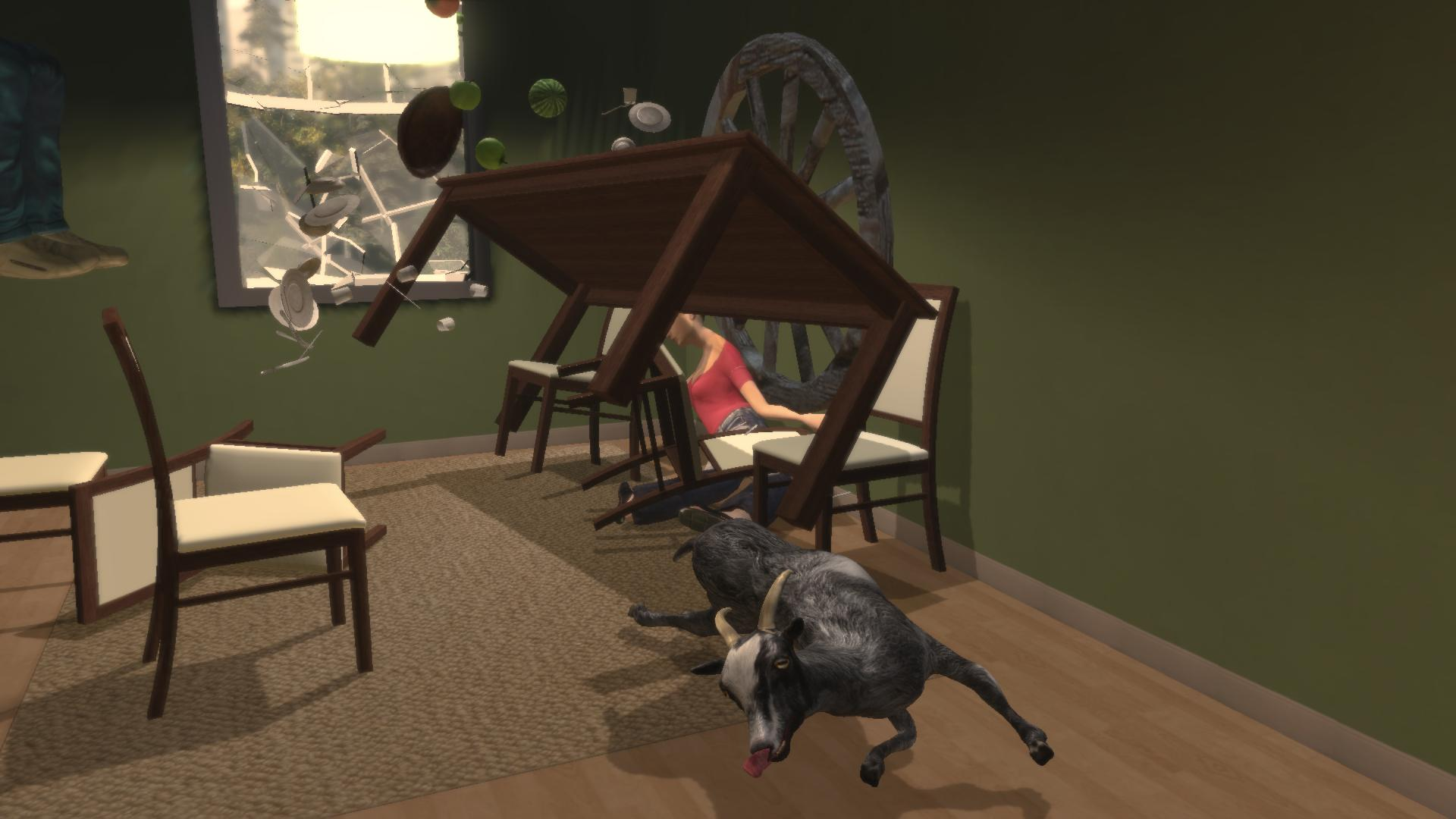 The stupid, ridiculous fun of Goat Simulator
