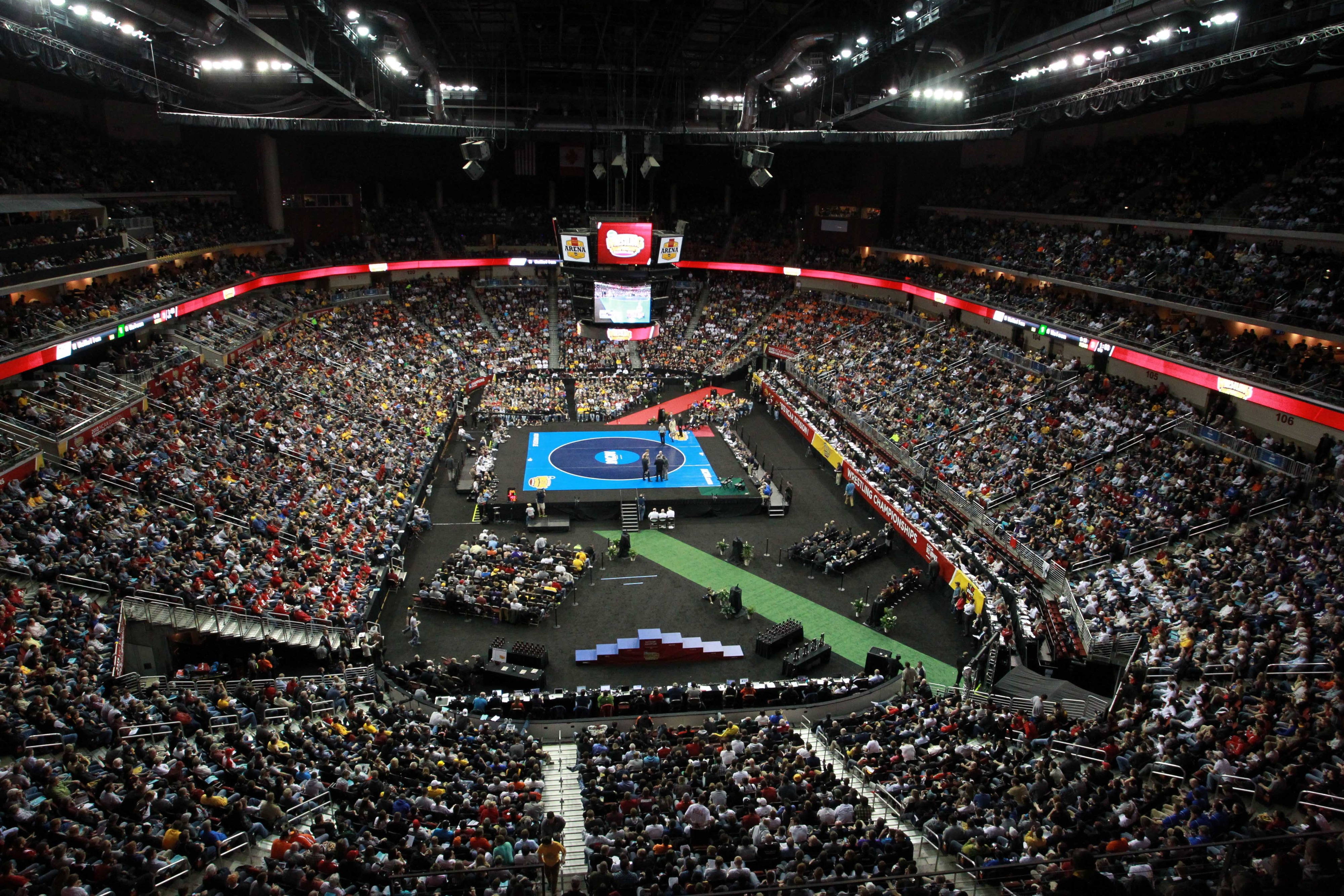 2014 NCAA Wrestling Championships finals results: Penn State claims fourth in a row