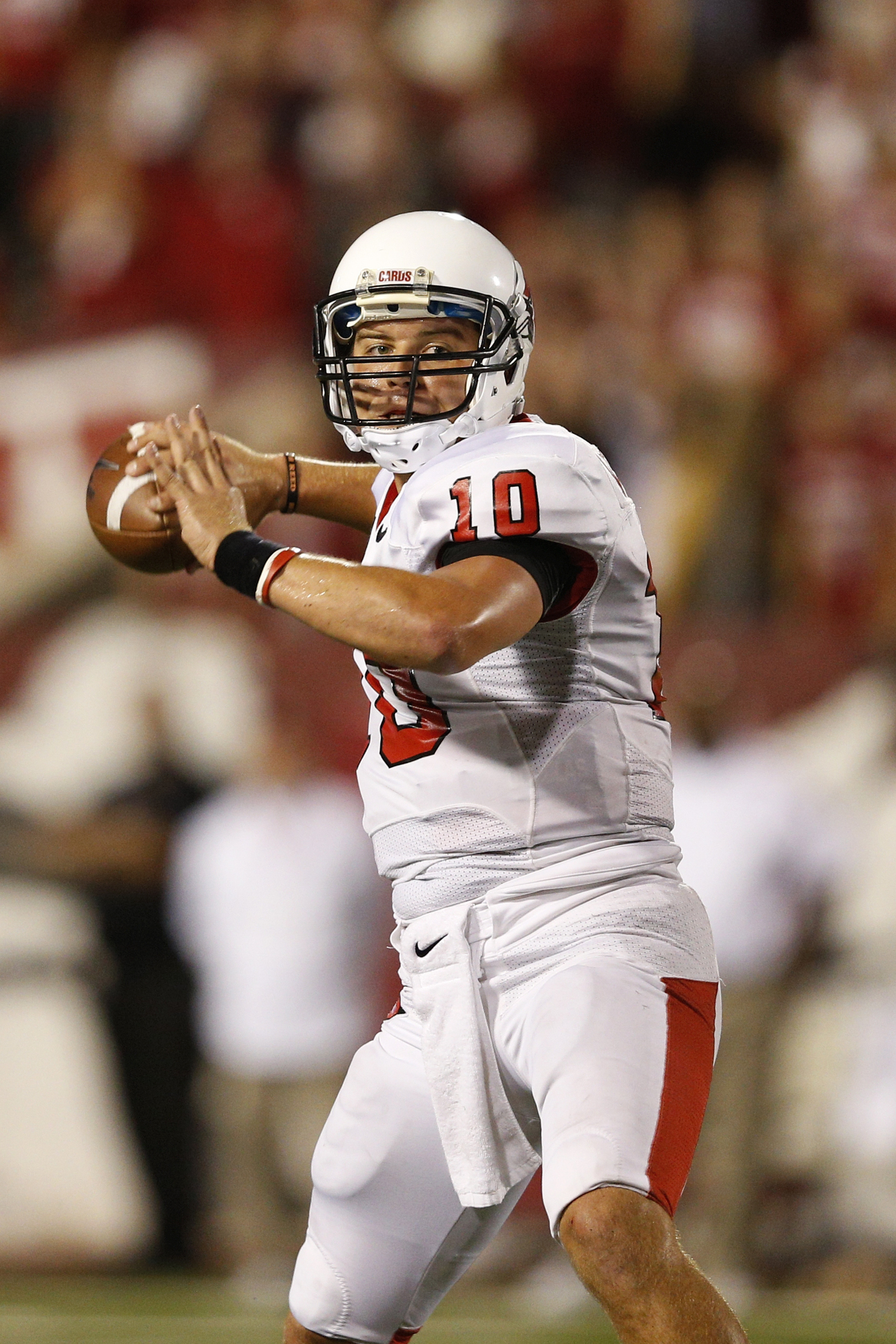 Keith Wenning and his Ball State Cardinals took down #25 Toledo at the Glass Bowl.