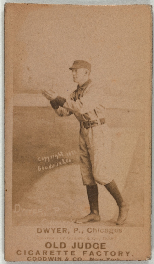 Frank Dwyer; likely 1888-90