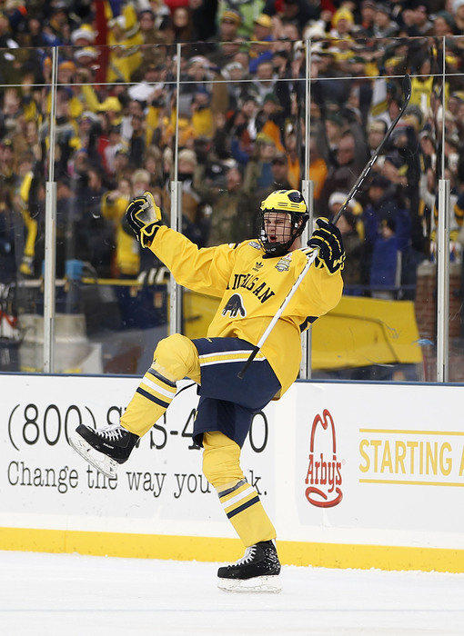 Jon Merrill had a lot to cheer for in 2009-10.  He remains a top defender for Michigan today.