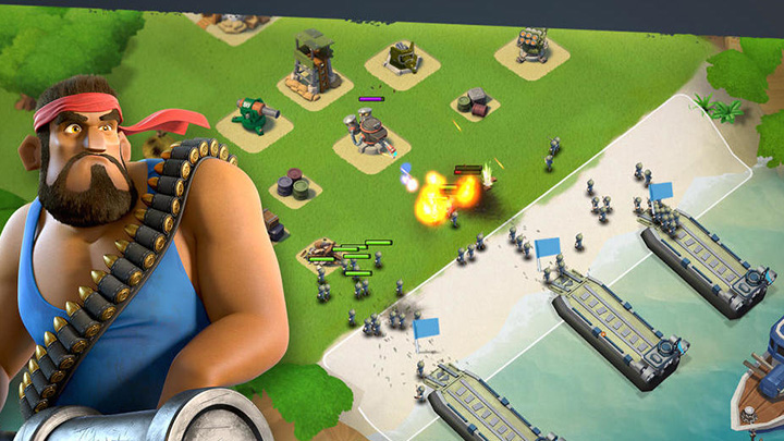 Clash of Clans dev's next game, Boom Beach, now available on iOS (update)