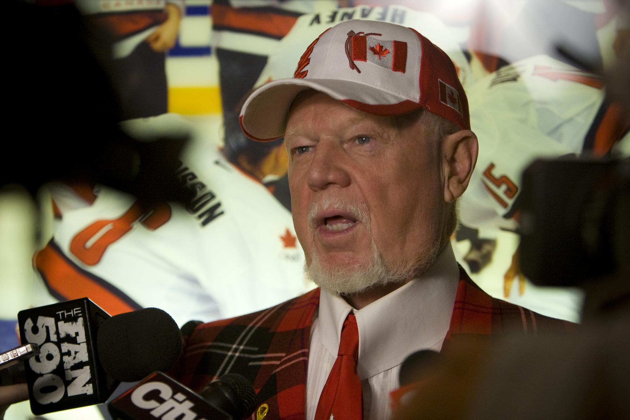Don Cherry's latest crusade: Those damn American college hockey players