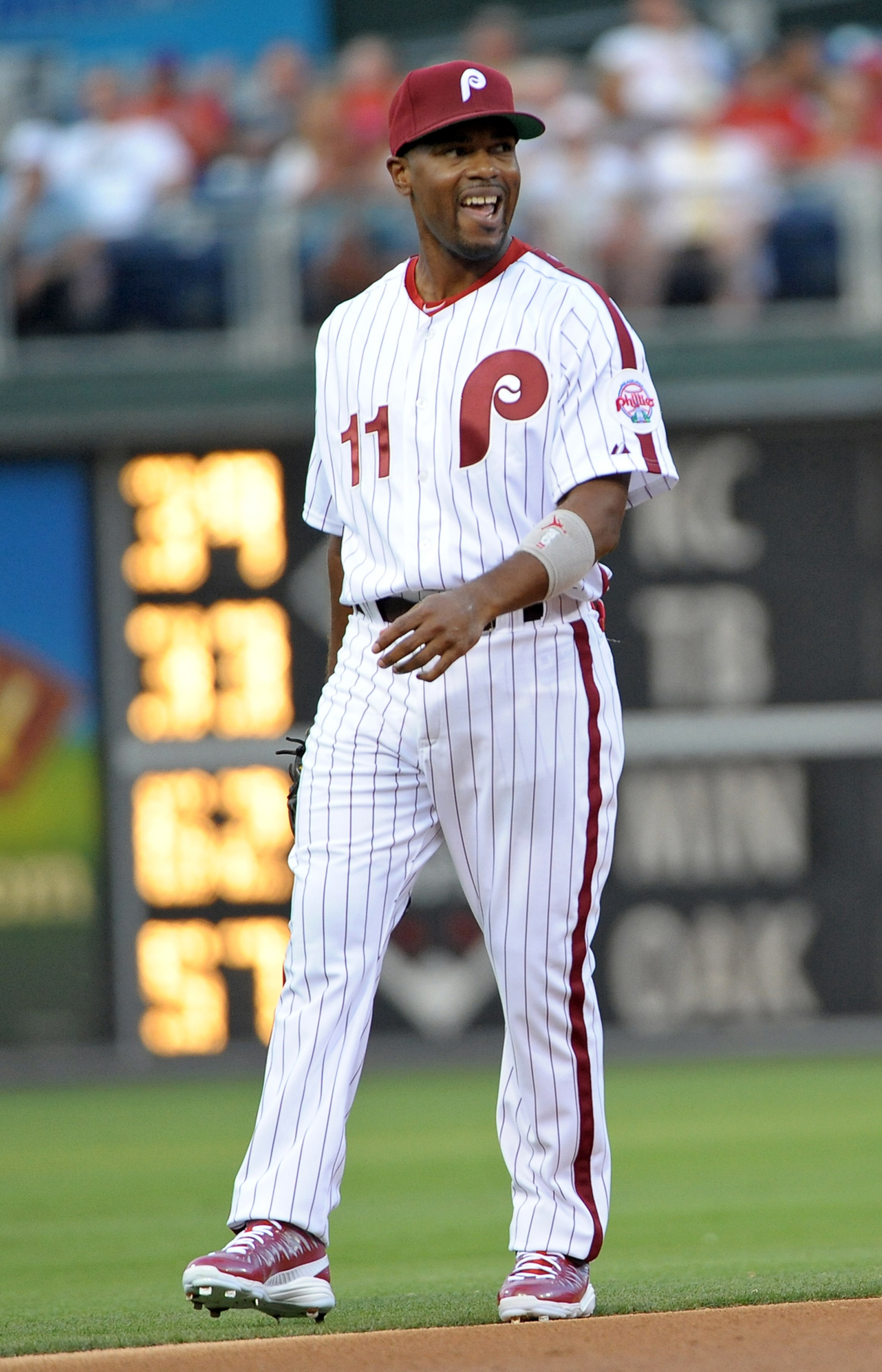 Jimmy Rollins, all time great.