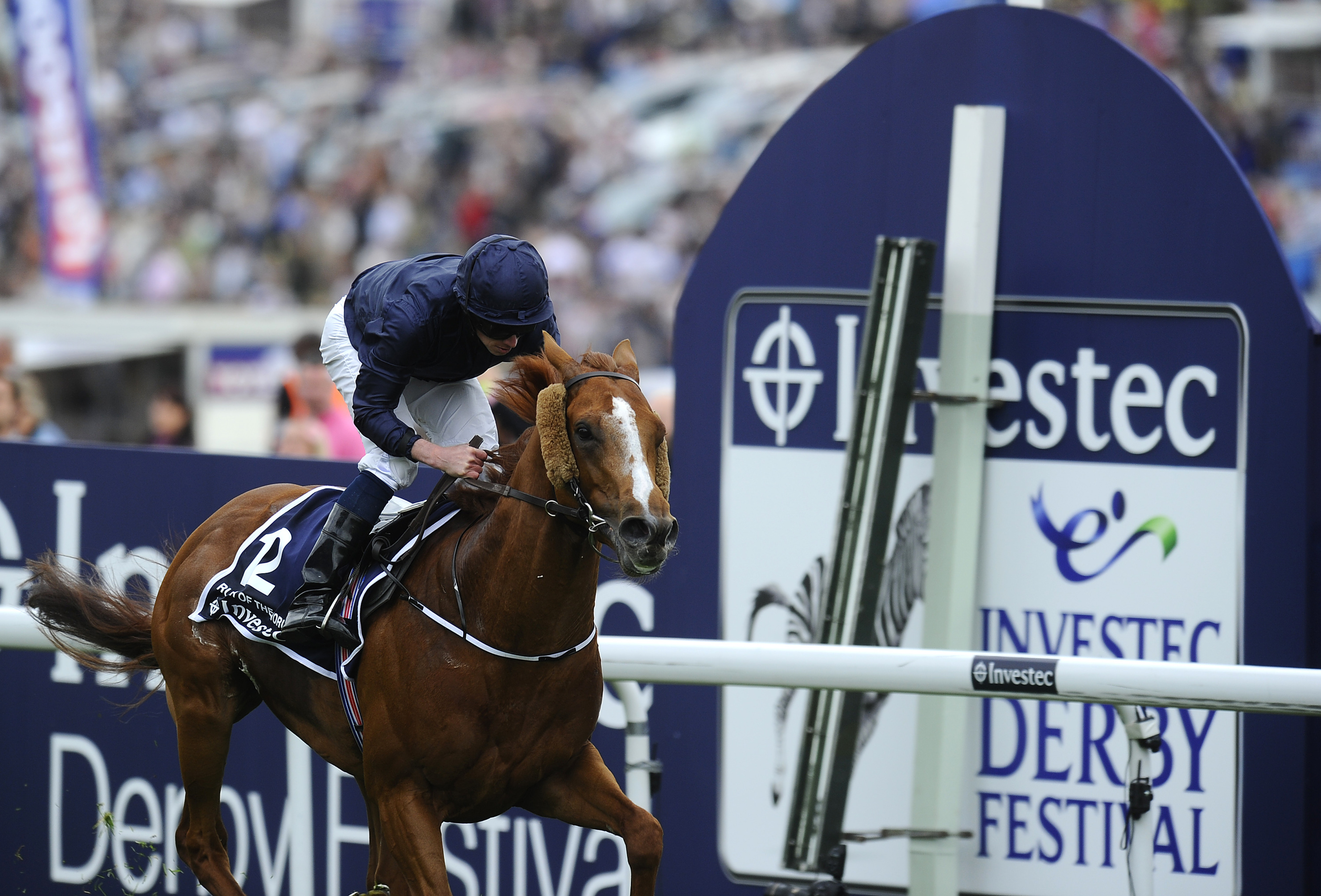 2013 Epsom Derby winner Ruler of the World (IRE) is the 9/2 morning line favorite for the 2014 Dubai World Cup at Meydan on Saturday, March 29th.