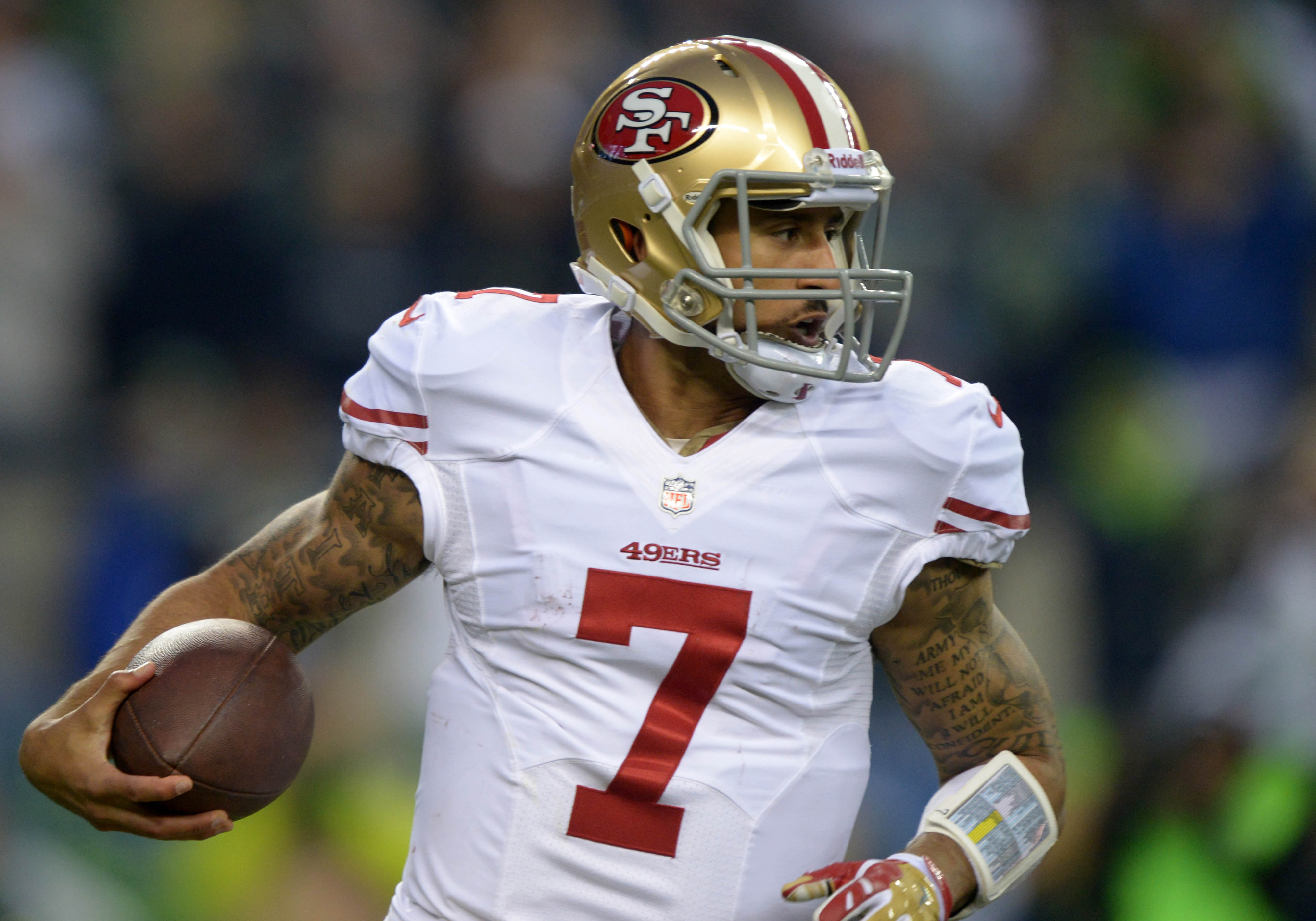 Kaepernick has poise enough to have beaten the Broncos.