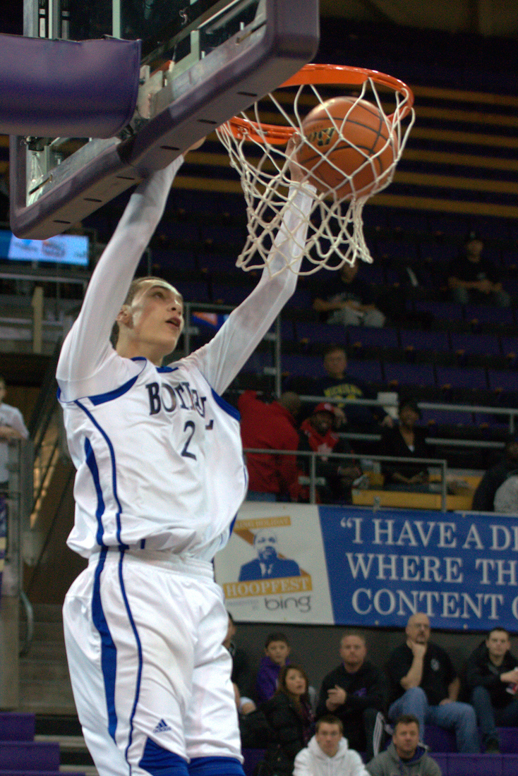 Bothell's Zach Lavine is the state's number one high school basketball player this year.