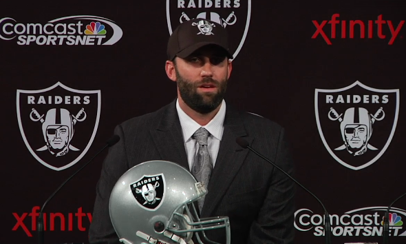 Schaub was all smiles at his introductory press conference but has been frustrated since.