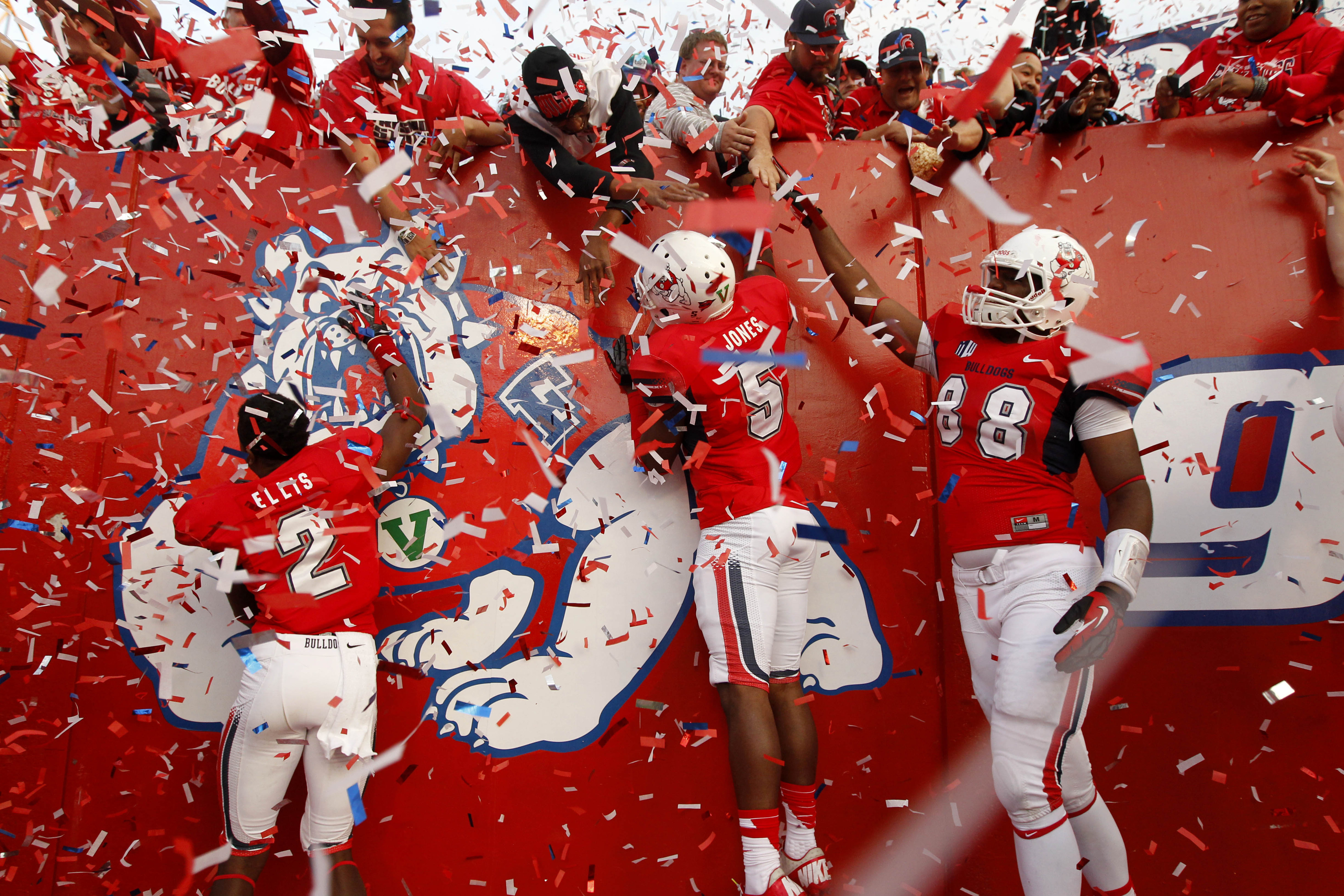 Left to right, Jamal Ellis, Dalen Jones and Jerin McClendon figure to be important pieces of the 2014 Fresno State roster.