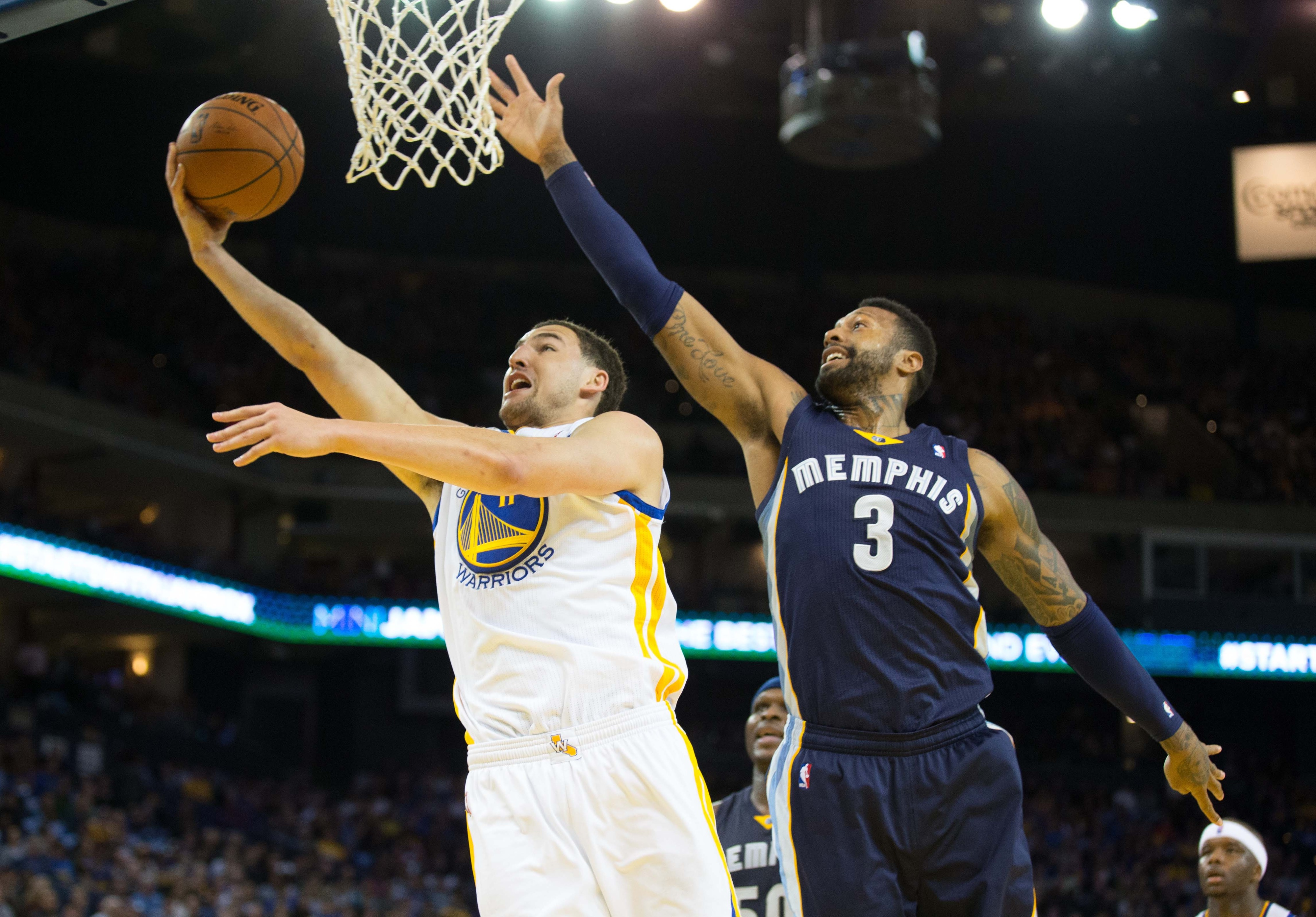 Far too often of late James Johnson and the Grizzlies are a step too slow on defense.