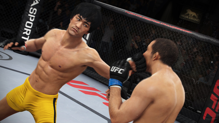 Bruce Lee is EA Sports UFC's mystery fighter