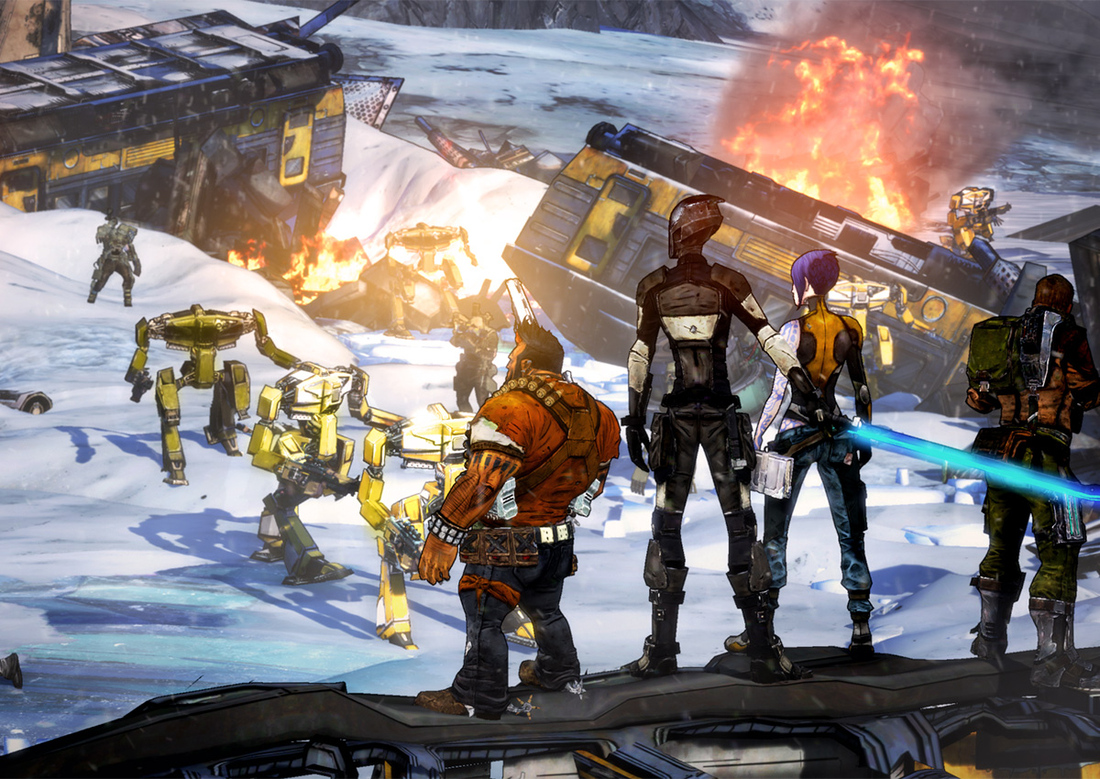 Report: Next Borderlands is Borderlands the Pre-Sequel for Xbox 360, PS3 and PC
