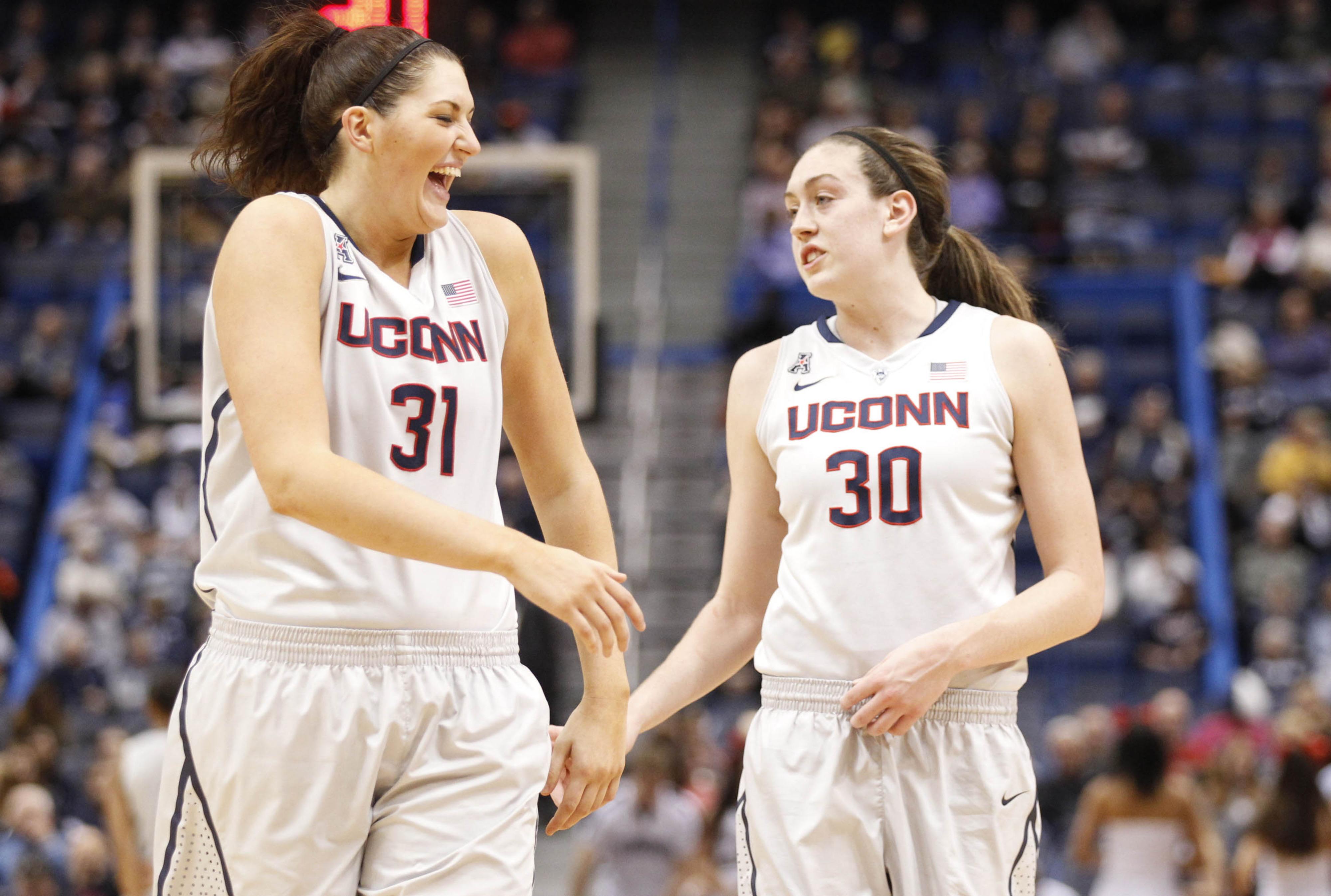 UConn's Stefanie Dolson and Breanna Stewart anchor the best frontcourt in the nation.