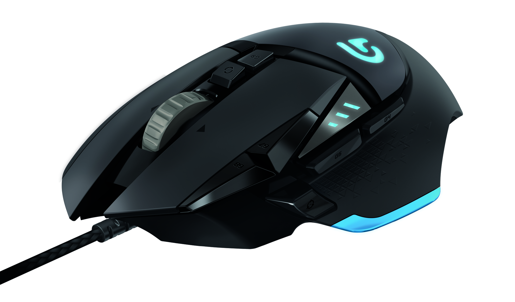 Logitech's G502 Proteus Core tunable gaming mouse with 12,000 DPI sensor hits in April