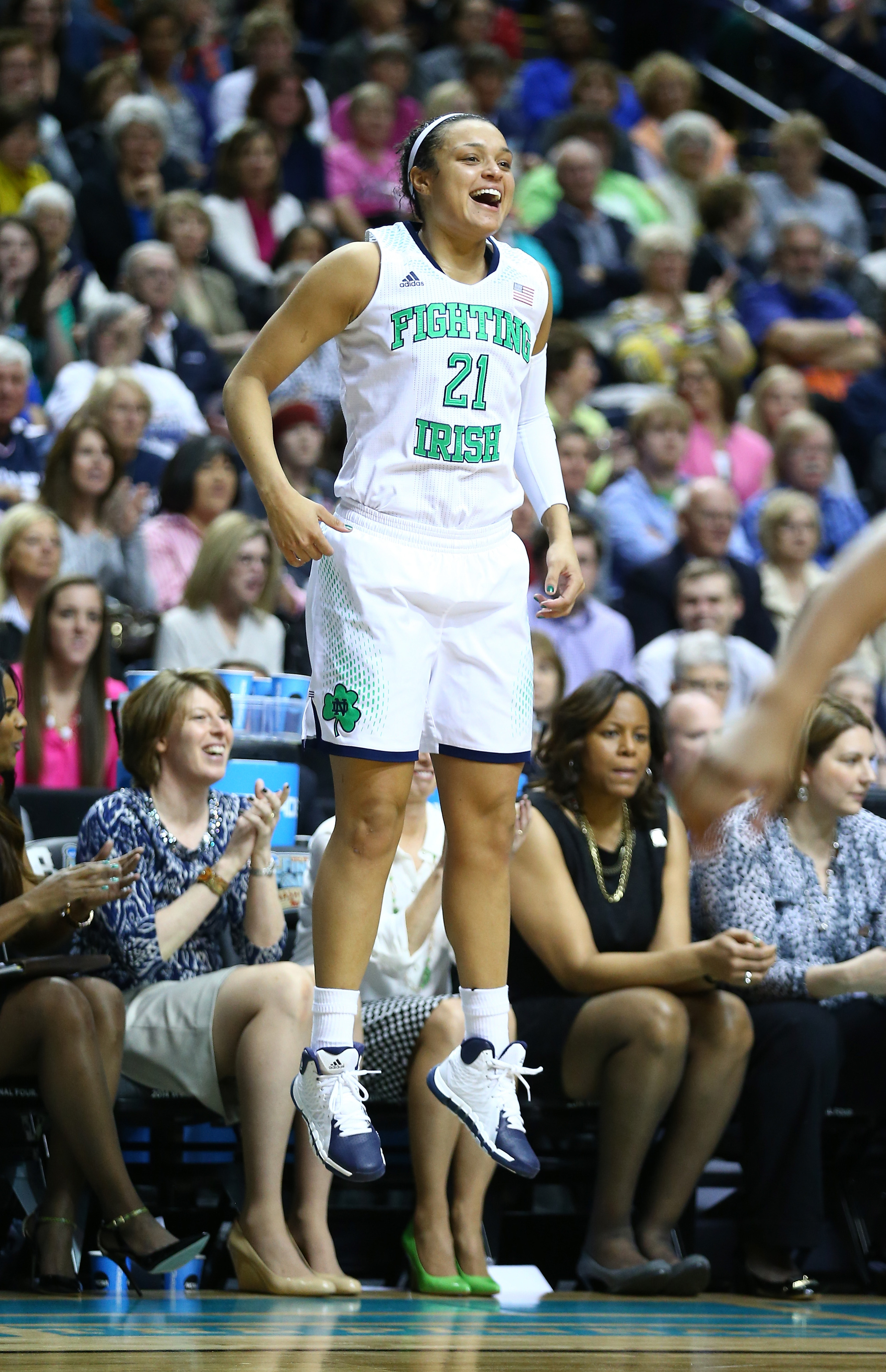 If Notre Dame wins, I think she'll be the tournament's Most Outstanding Player.