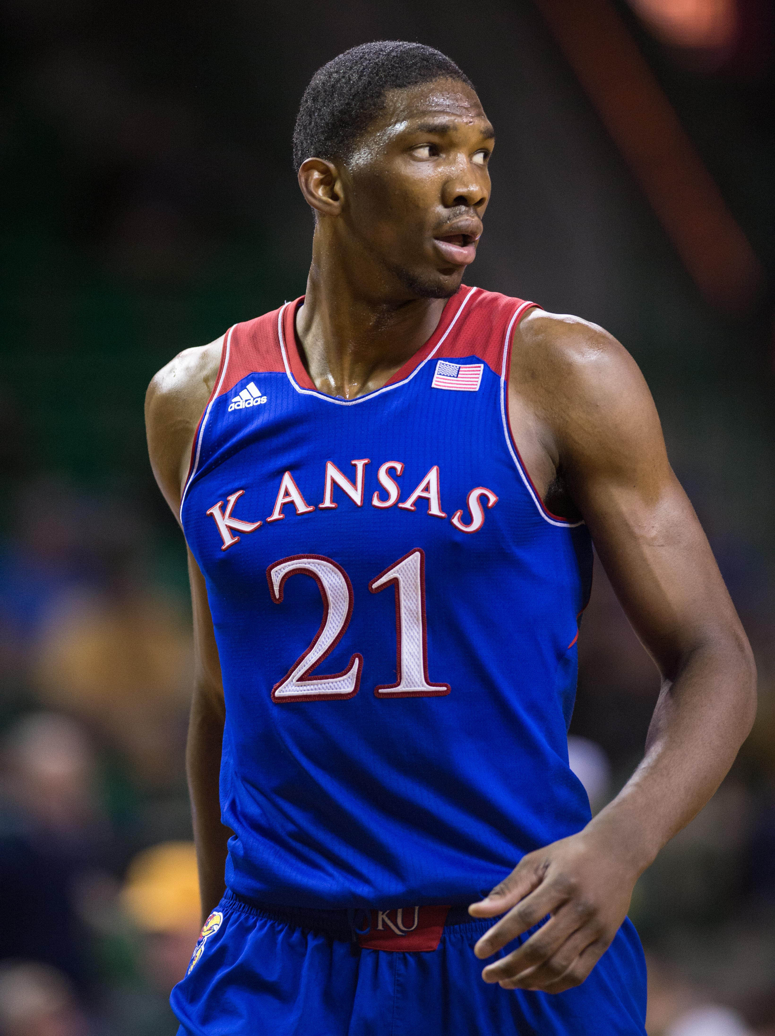 Kansas' Joel Embiid declares for NBA Draft