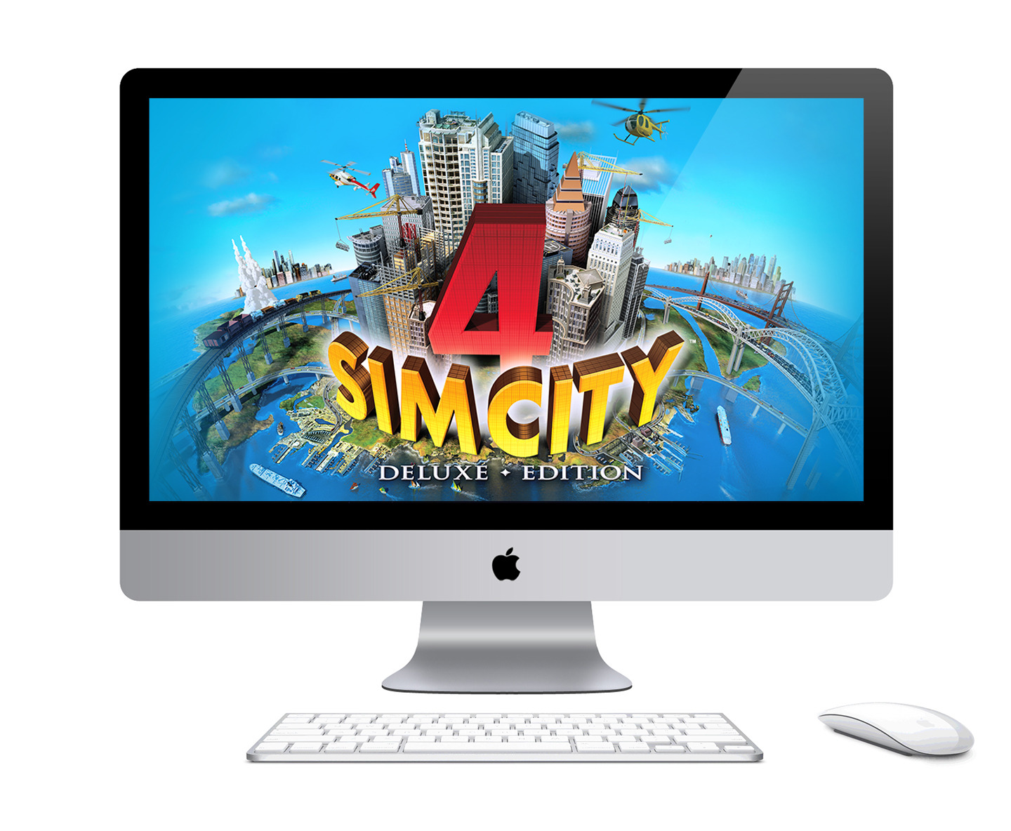 SimCity 4 Deluxe Edition re-released digitally via Mac App Store