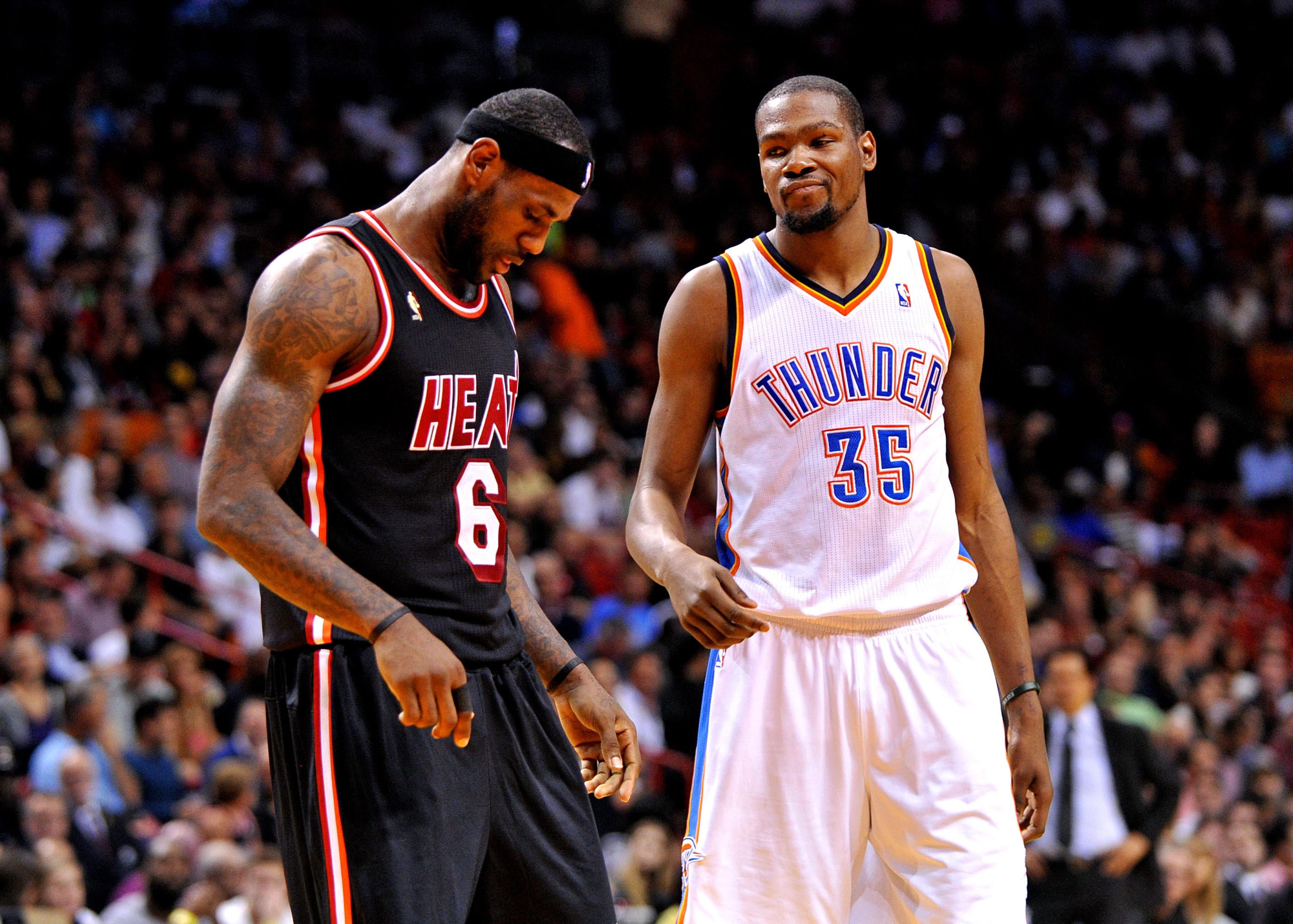 LeBron James thinks Kevin Durant is the NBA MVP