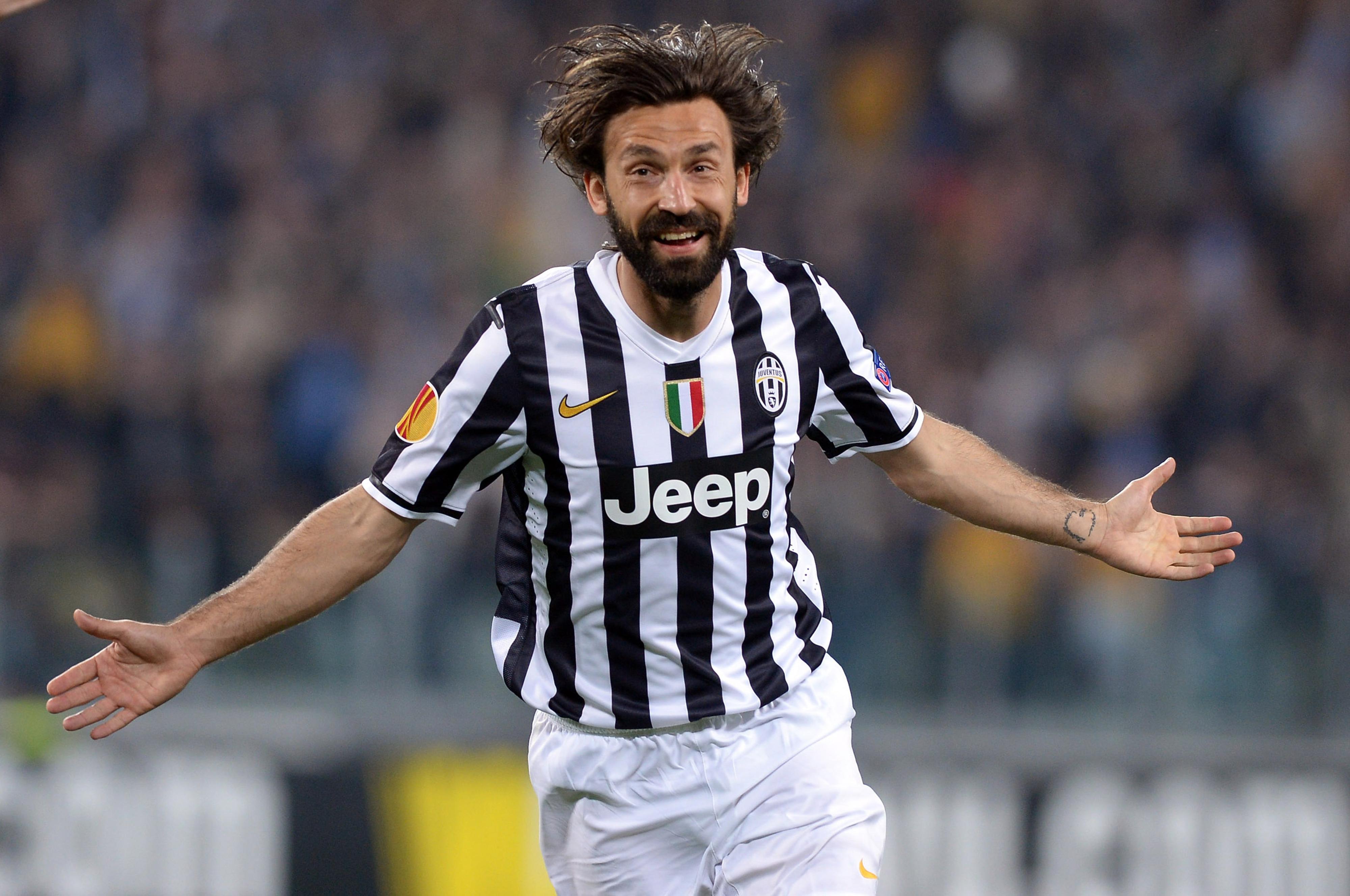 Hair. Beard. Pirlo.