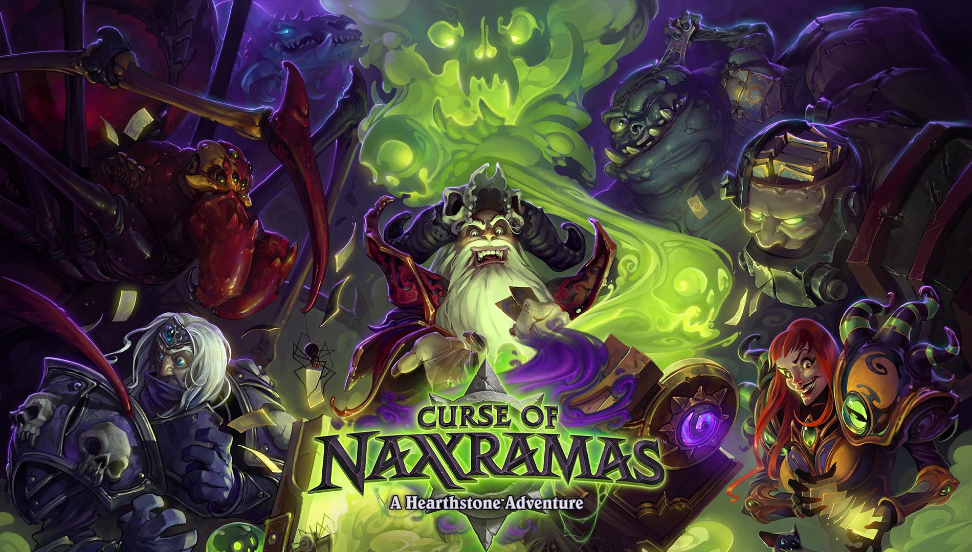 Hearthstone getting single-player Curse of Naxxramas adventure mode