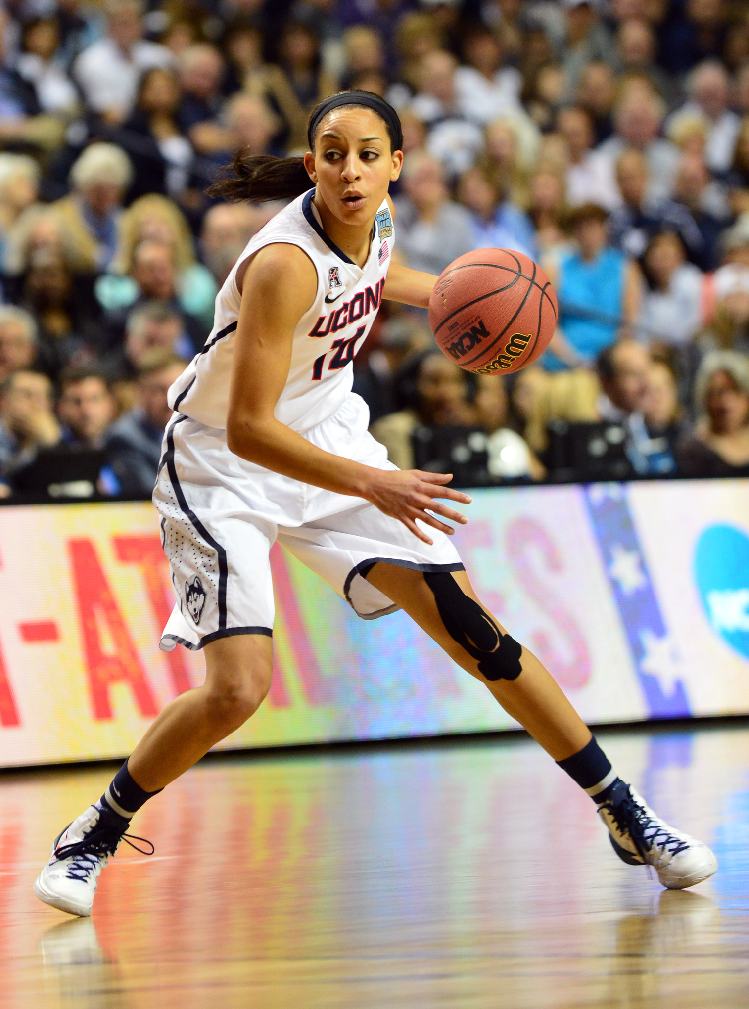 UConn's Bria Hartley had a great senior year, but perhaps a bit of an uncertain future.