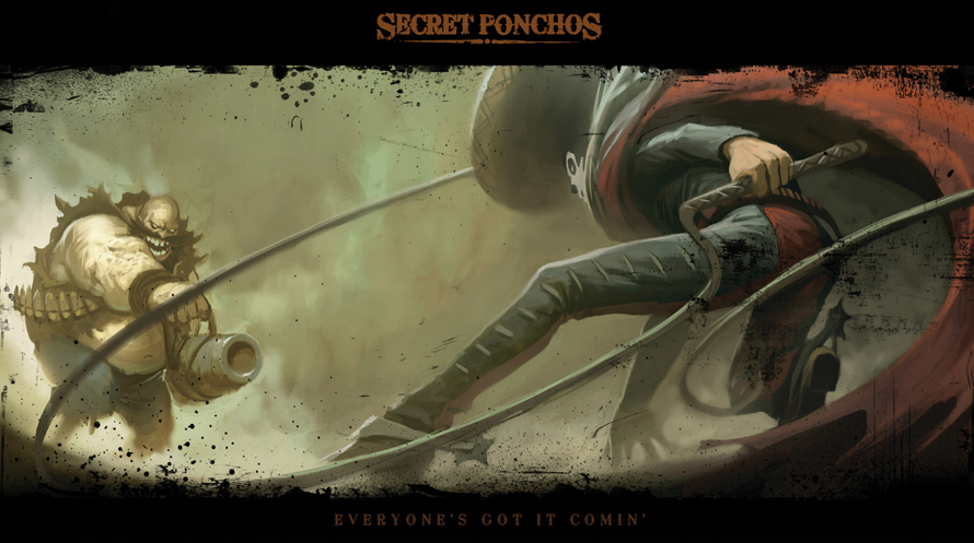 Single player could be next for spaghetti western shooter Secret Ponchos