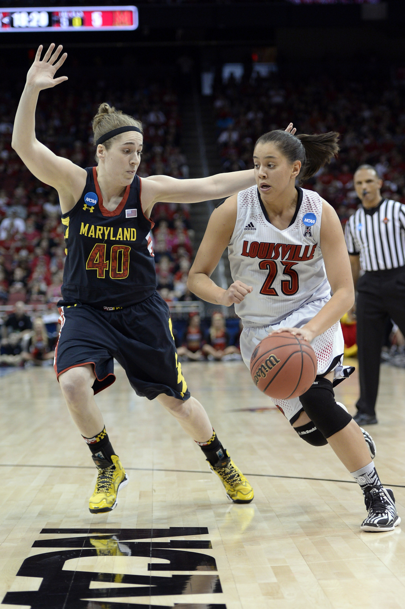 Shoni Schimmel's game against Maryland might not have ended well for Louisville, but it was a pretty good showcase of her talent.