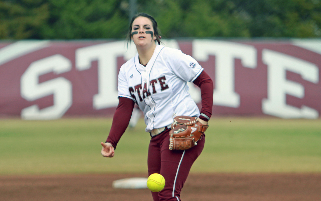 Alison Owen continued to close in on the all-time Mississippi State strikeout record with a strong showing against No. 2 Alabama.