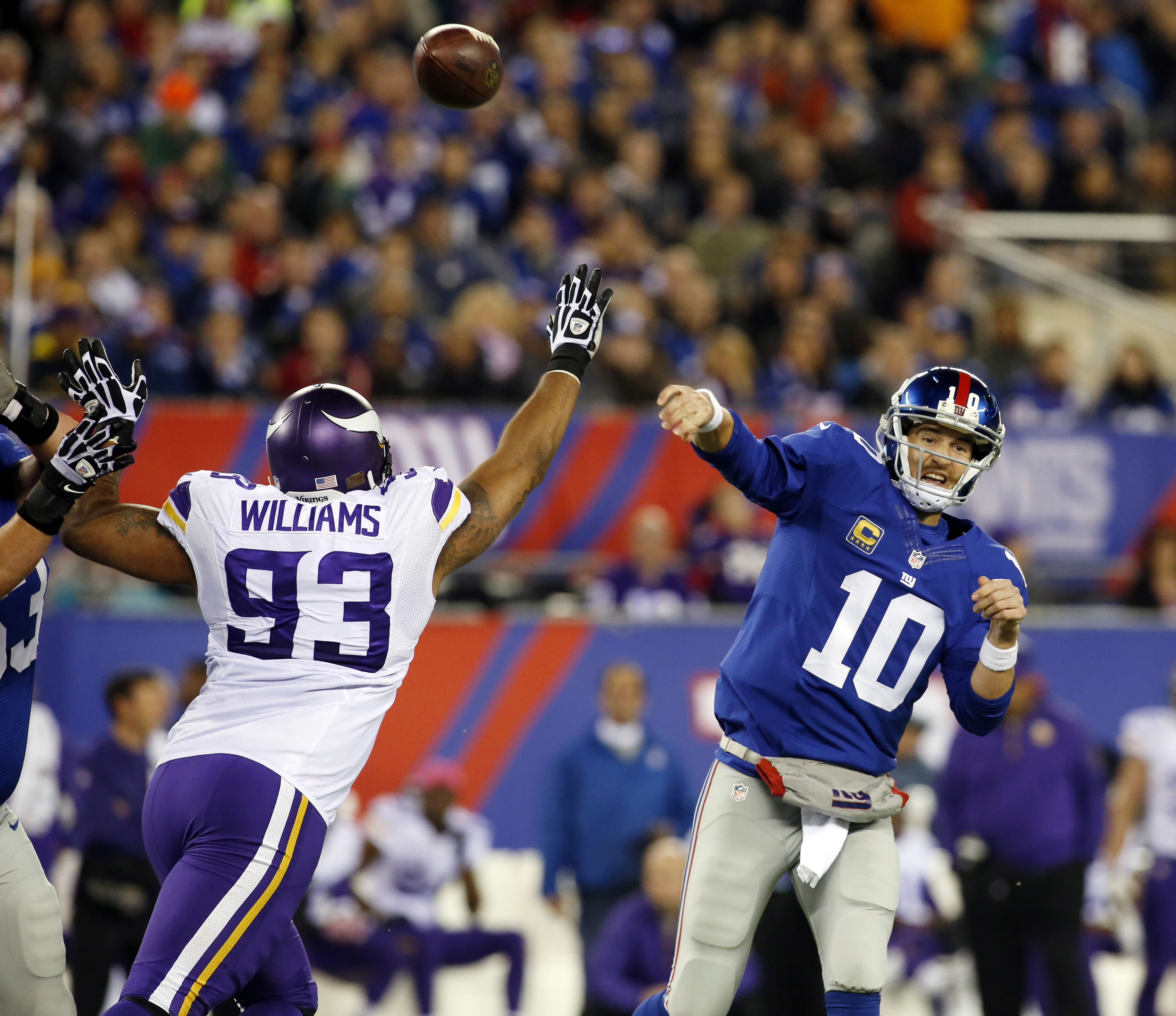 Kevin Williams is in New York meeting with the Giants