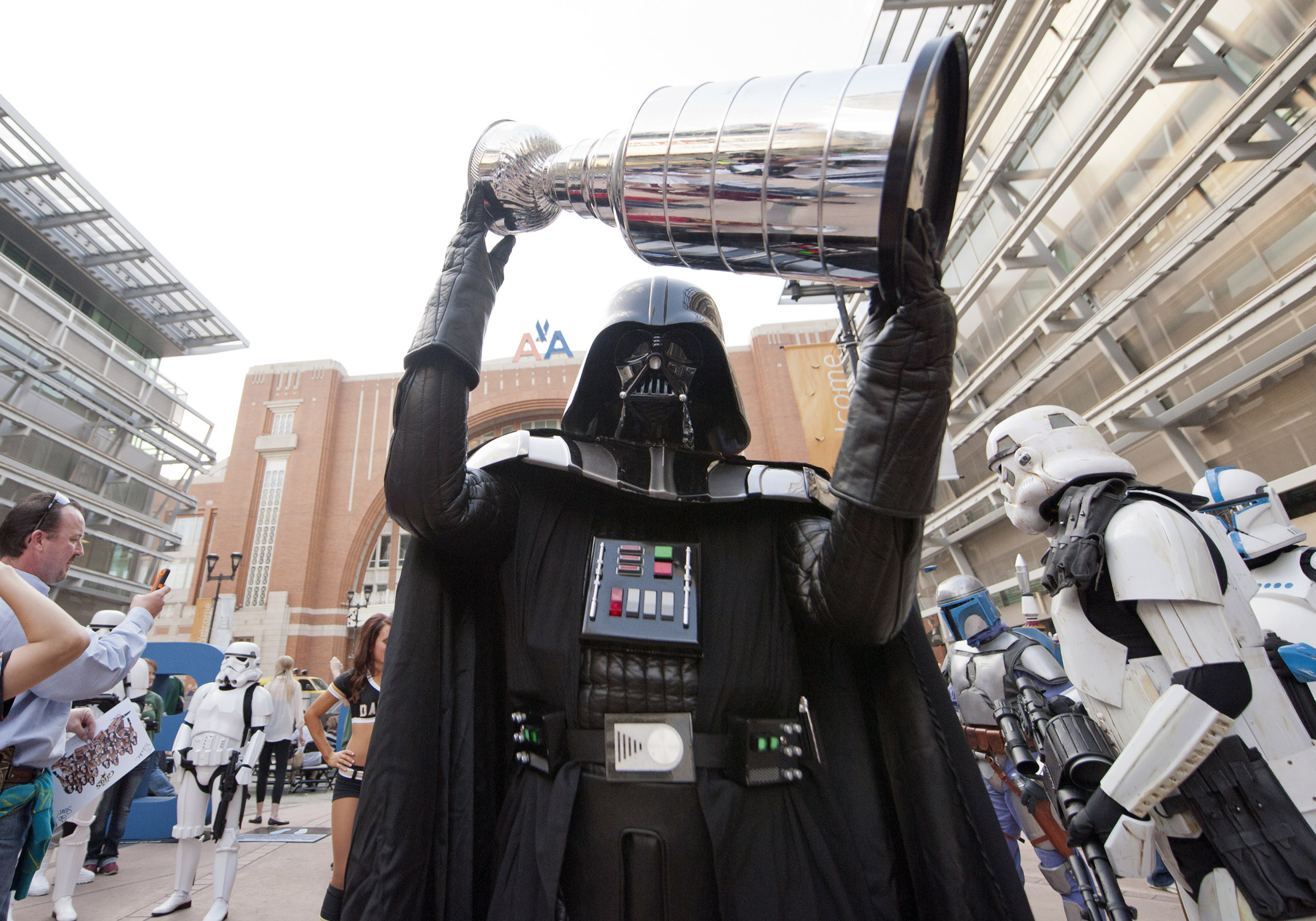 For the 30th consecutive year, the Stanley Cup will fall to the Dark Side.
