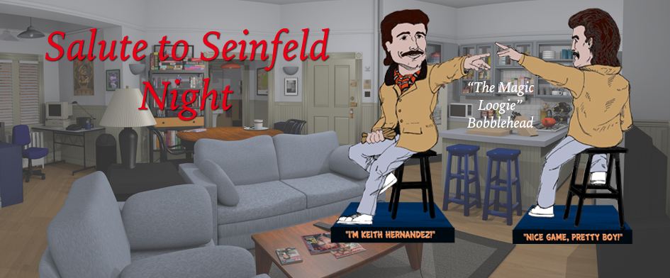 What's the deal with 'Seinfeld night'?