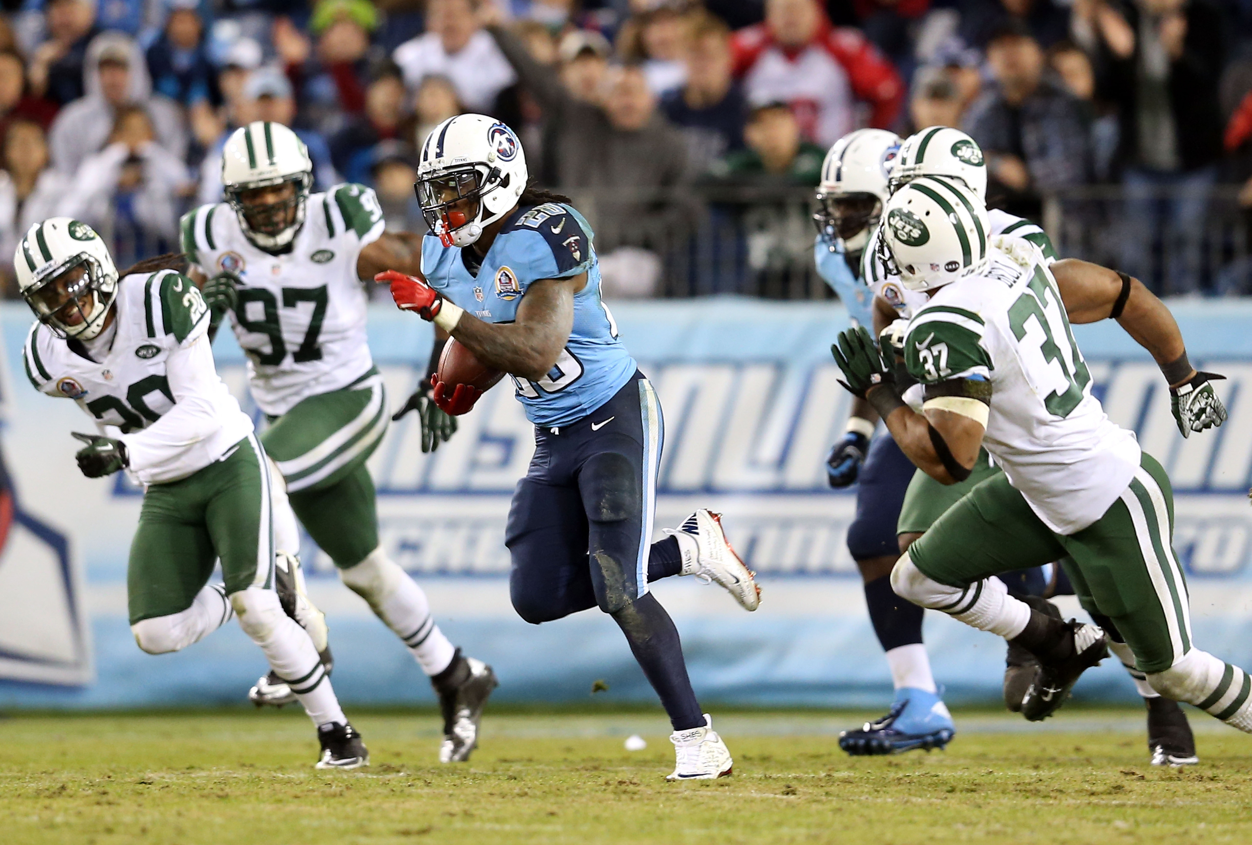 Fantasy football impact as Chris Johnson becomes the newest New York addition