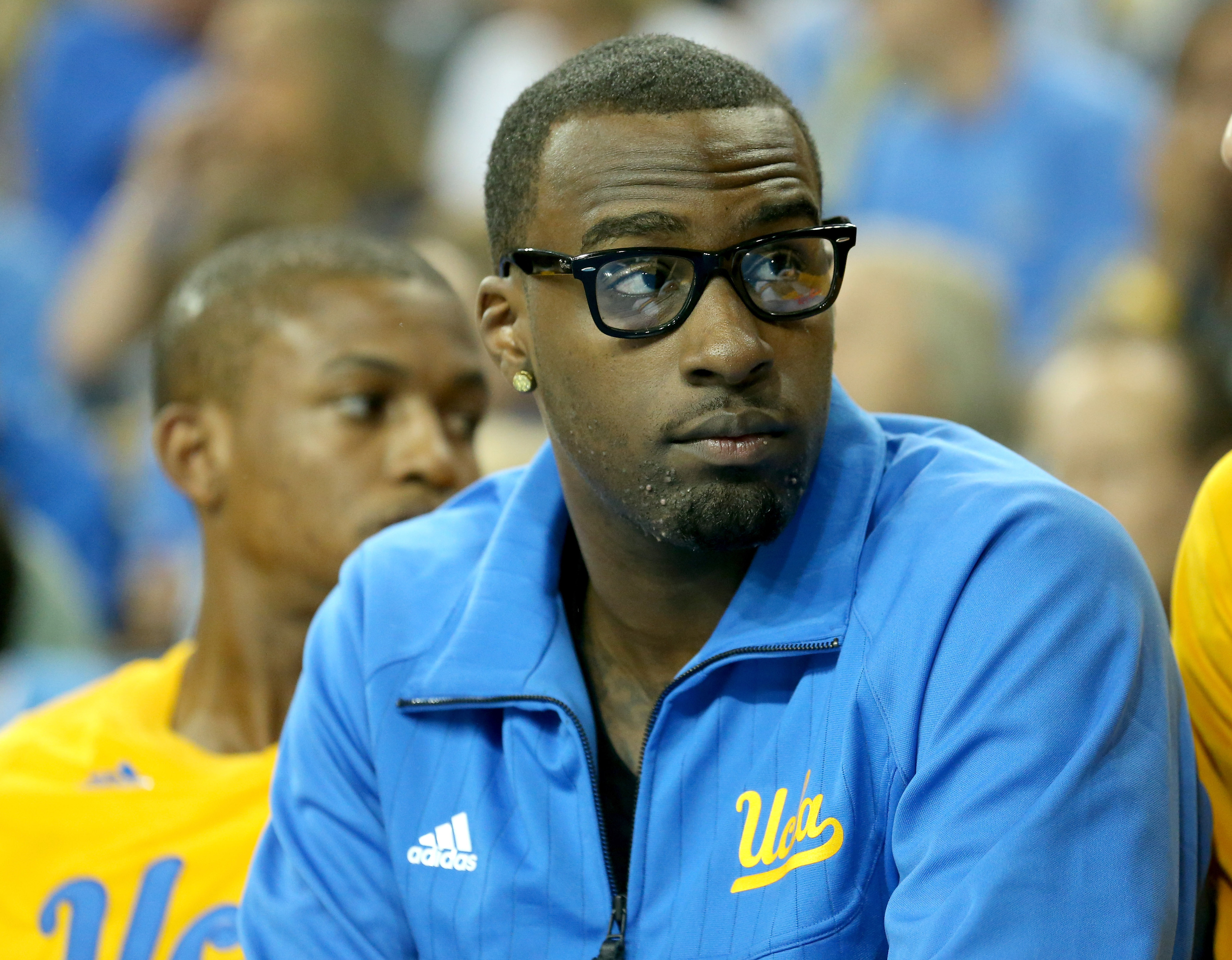 With his hipster glasses, Shabazz Muhammad fits right in to the LA scene