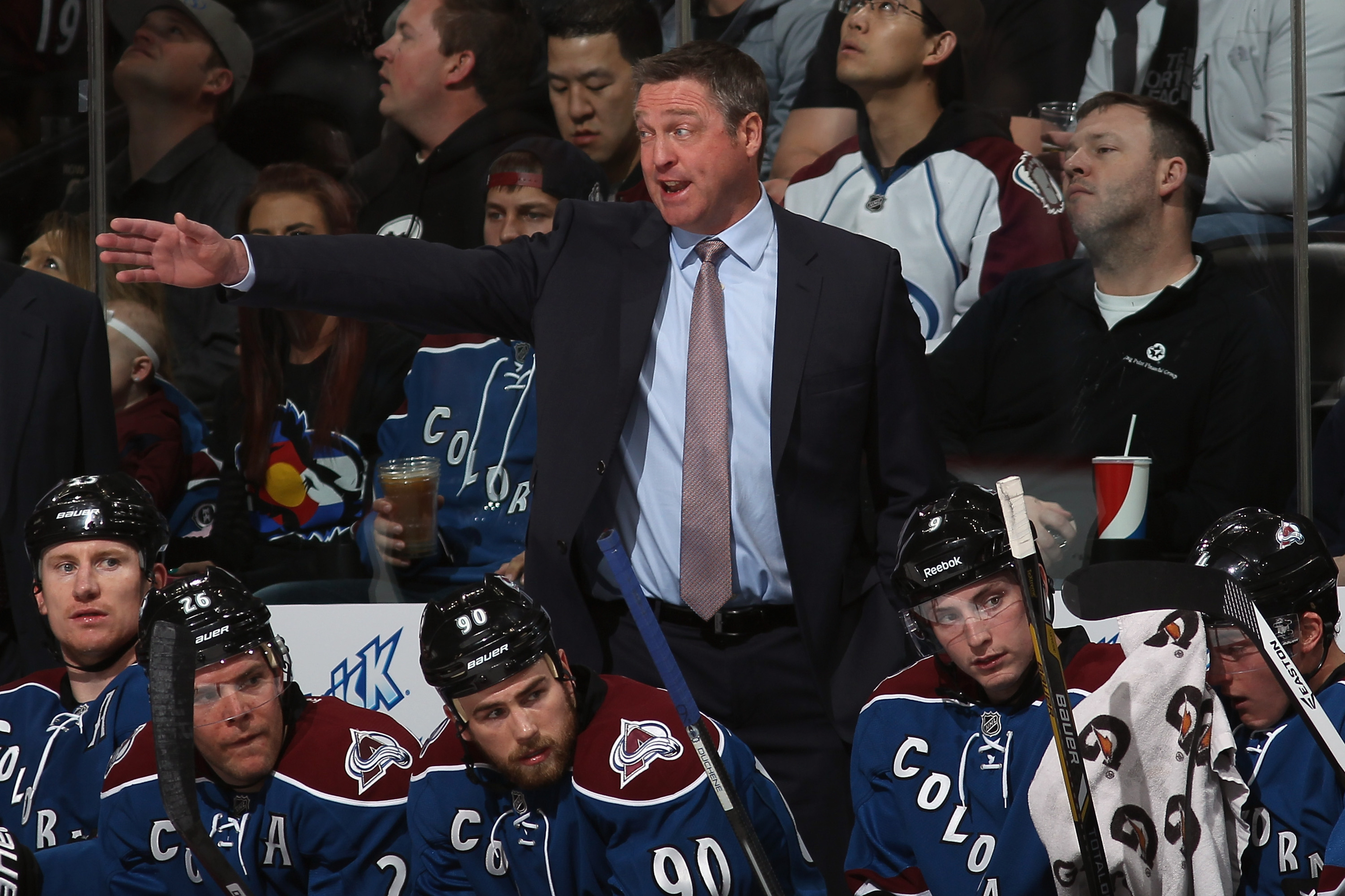 NHL playoffs: It's never too early for Patrick Roy to pull his goalie