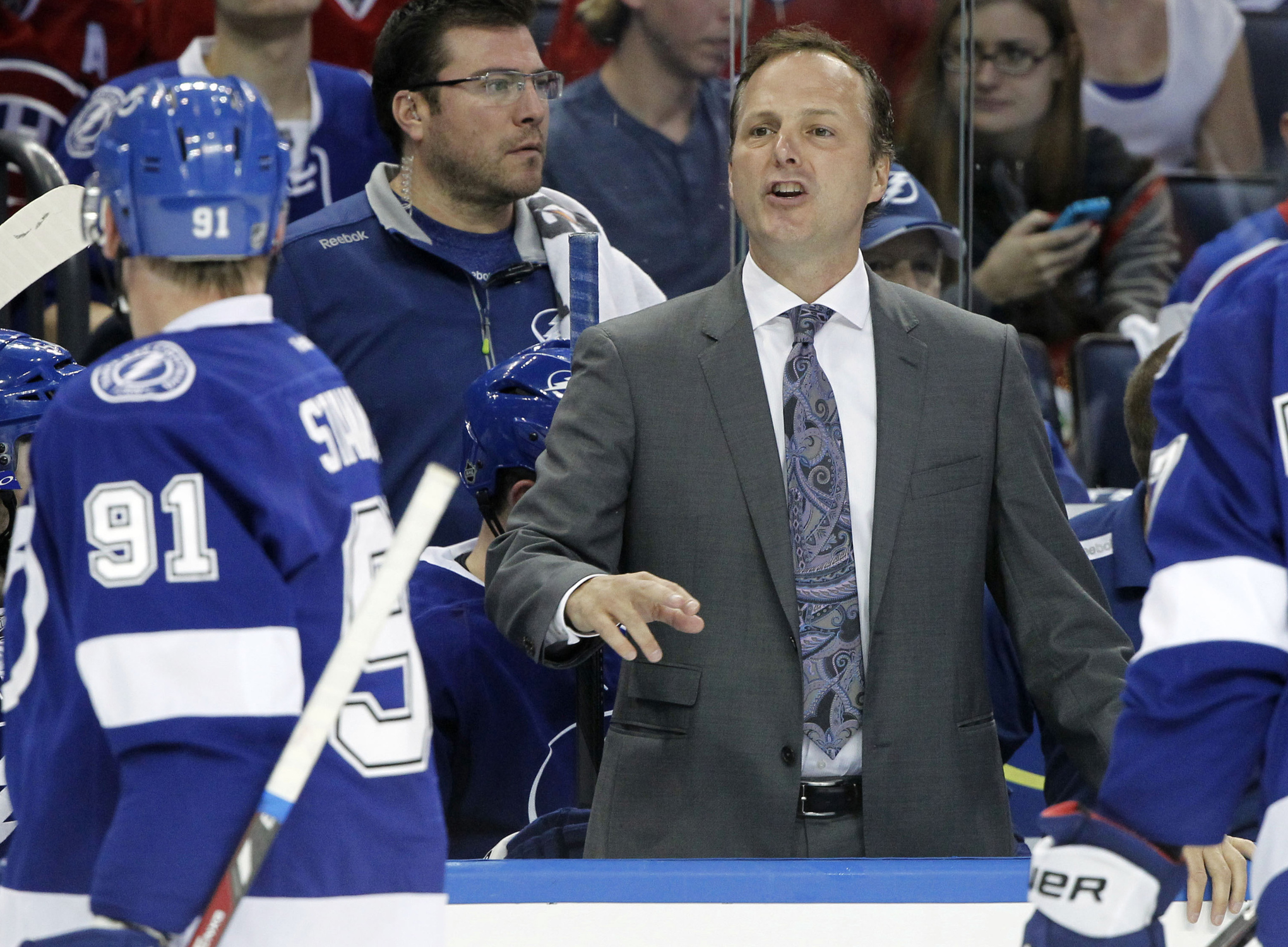 Tampa Bay Lightning head coach Jon Cooper is left looking for answers after two less-than-stellar outings find the Lightning heading to Montreal with an 0-2 record in the Atlantic Division semifinals.