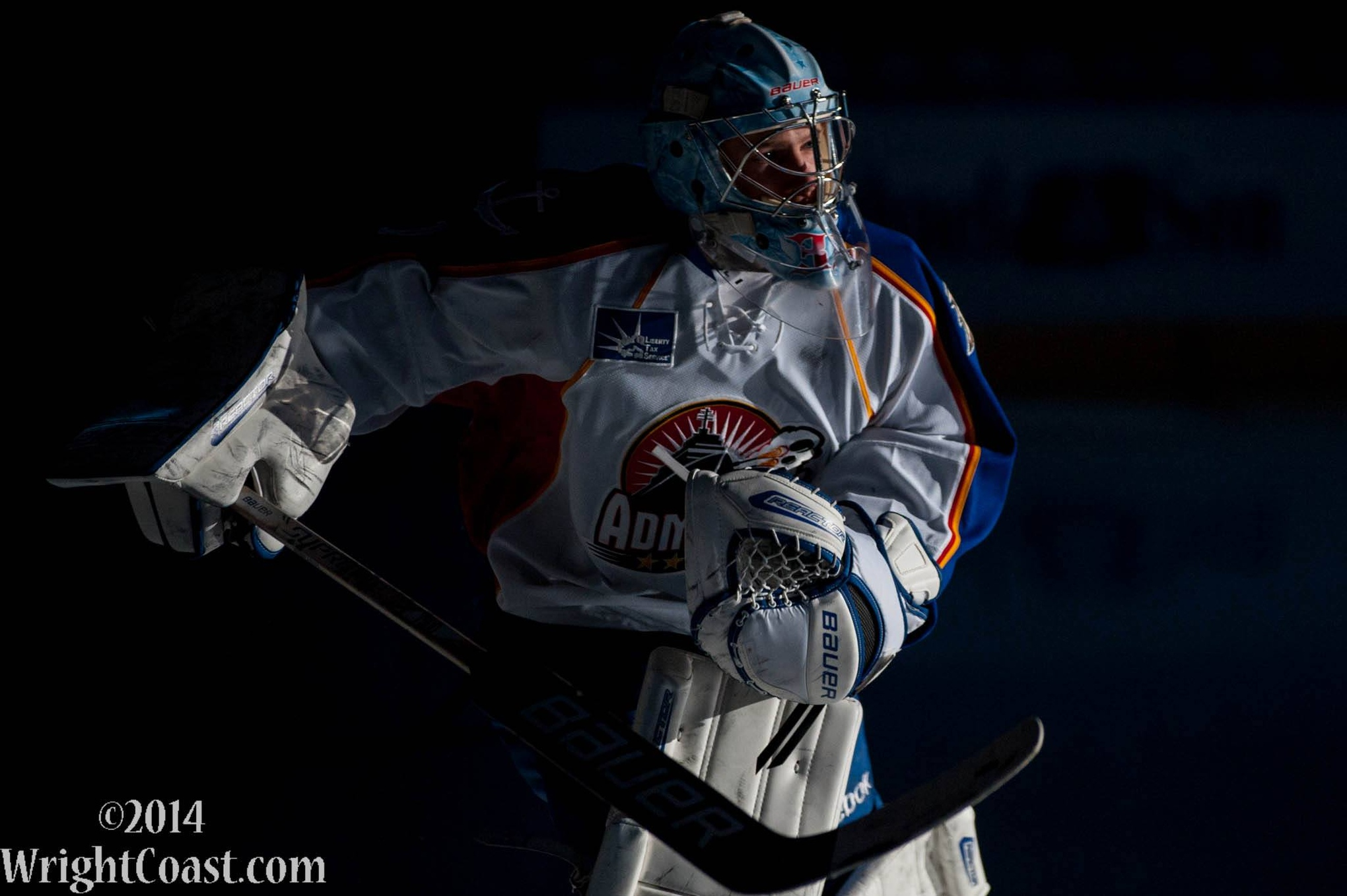Brad Thiessen Carries the Admirals in to the 13-14 Calder Cup Playoffs